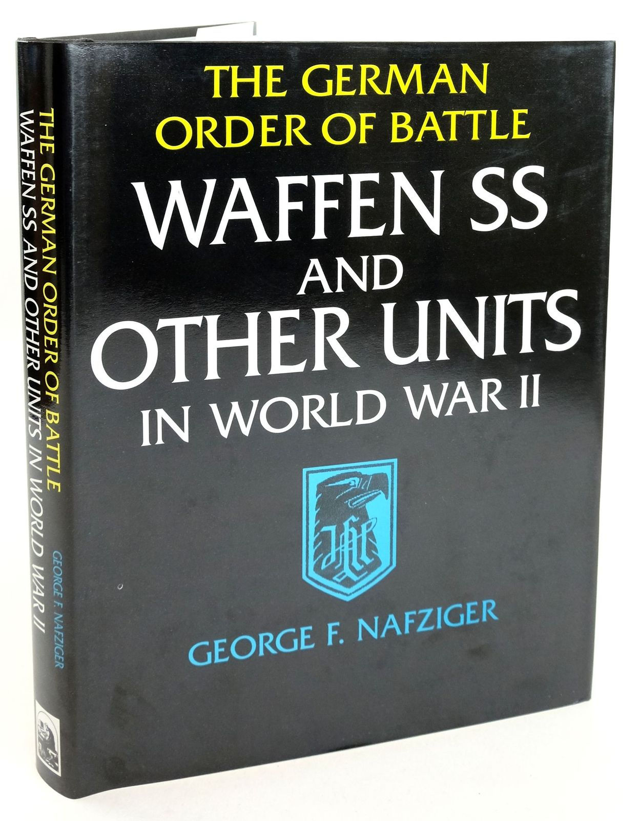 Photo of THE GERMAN ORDER OF BATTLE WAFFEN SS AND OTHER UNITS IN WORLD WAR II- Stock Number: 1819336