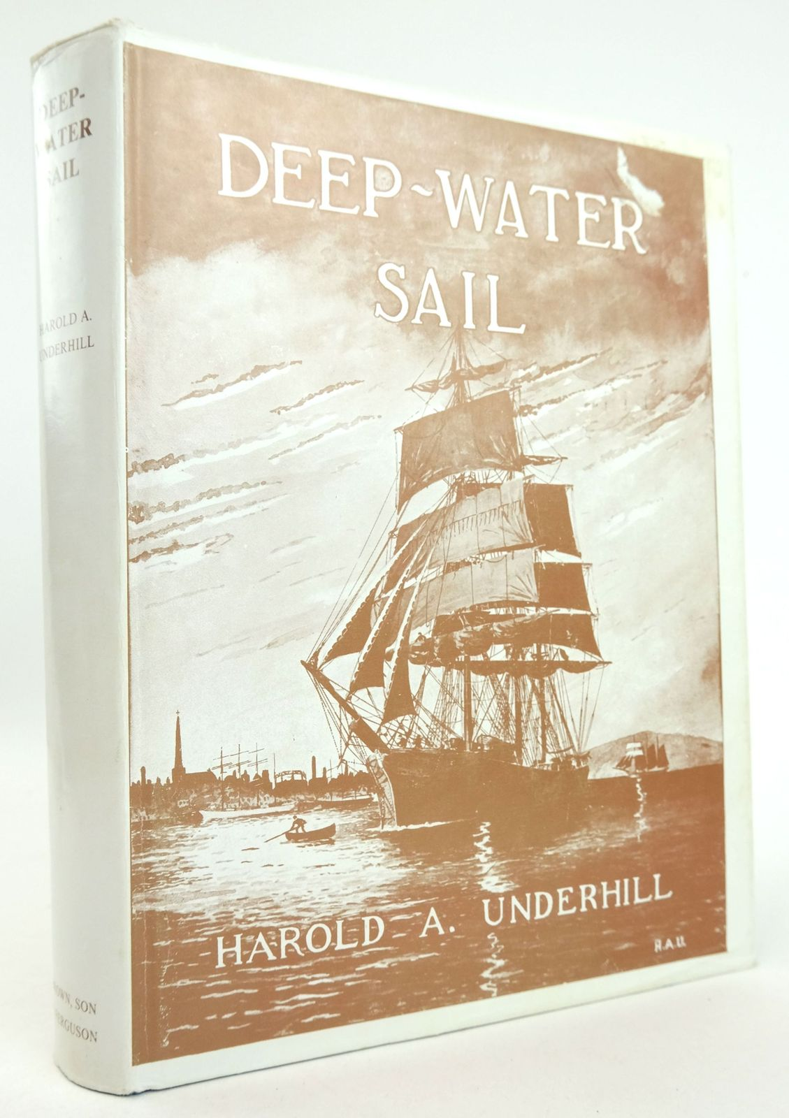 Photo of DEEP-WATER SAIL written by Underhill, Harold A. published by Brown, Son & Ferguson Ltd. (STOCK CODE: 1819338)  for sale by Stella & Rose's Books