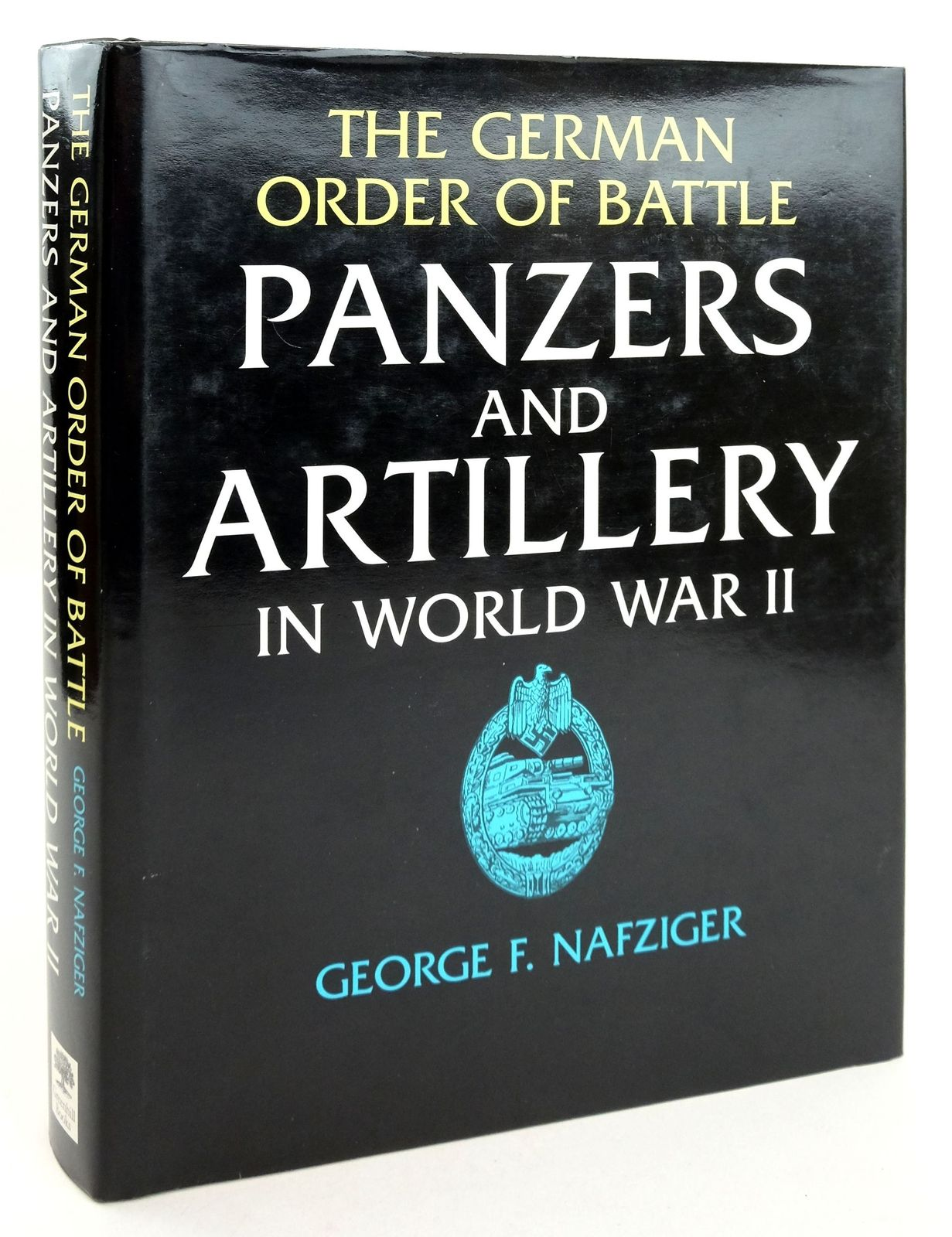 Photo of THE GERMAN ORDER OF BATTLE PANZERS AND ARTILLERY IN WORLD WAR II- Stock Number: 1819339
