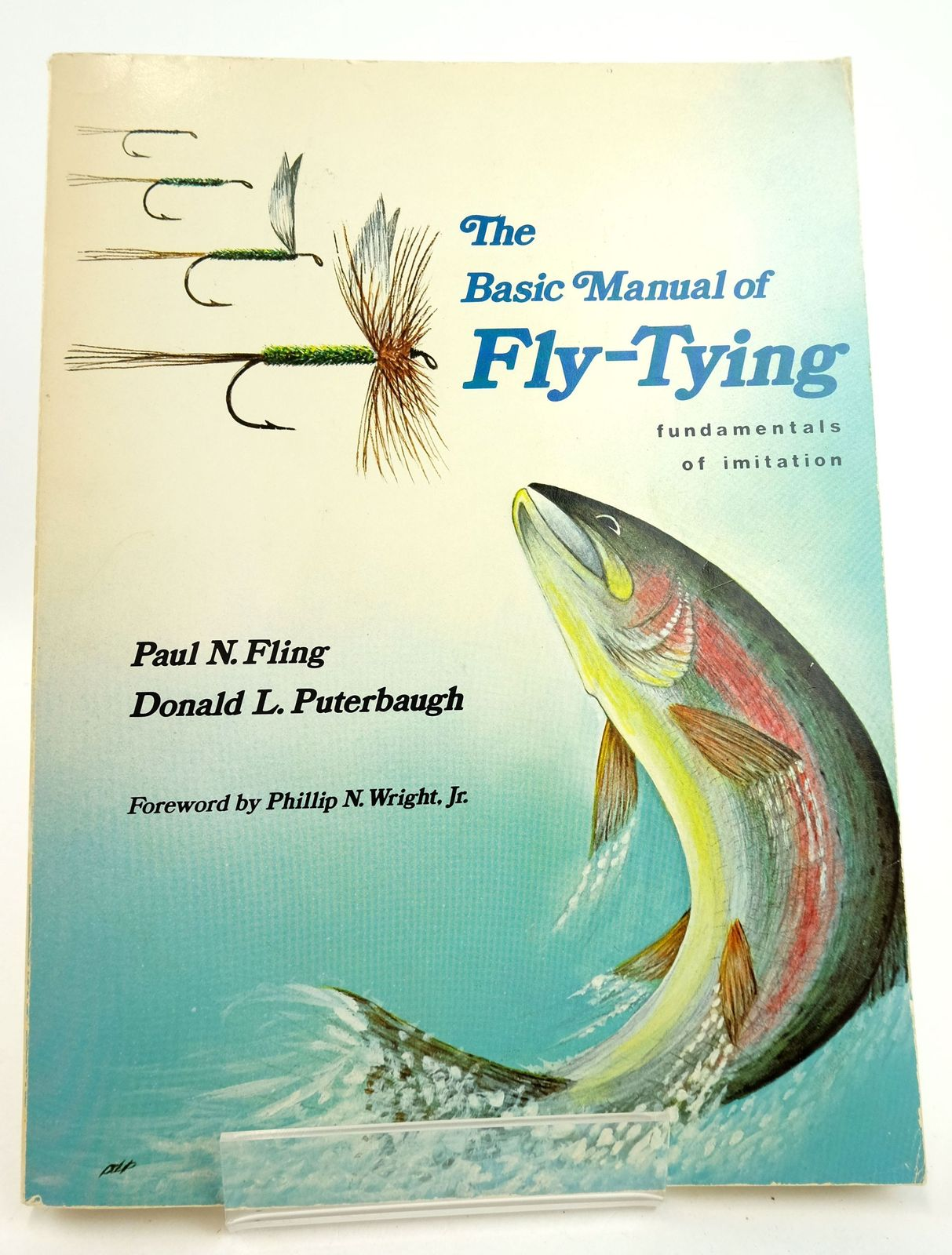 Photo of THE BASIC MANUAL OF FLY-TYING- Stock Number: 1819349