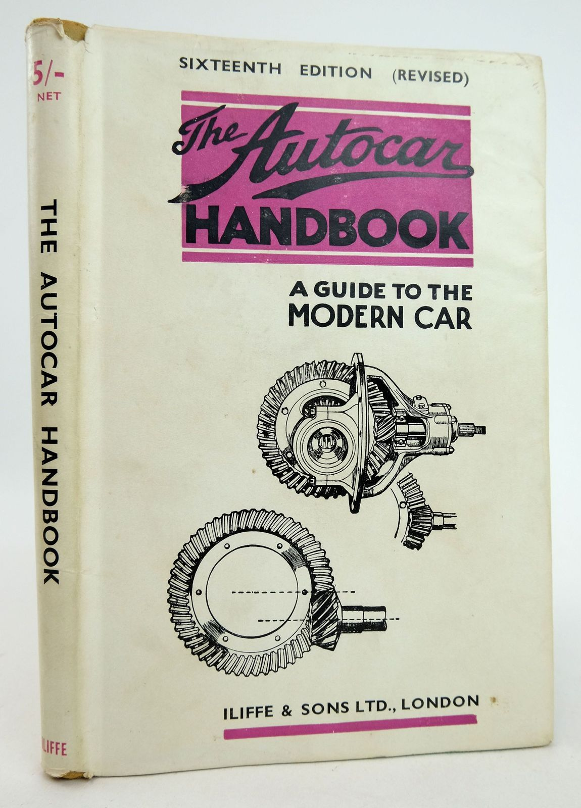 Photo of THE AUTOCAR HANDBOOK: A GUIDE TO THE MODERN CAR published by Iliffe & Sons Limited (STOCK CODE: 1819376)  for sale by Stella & Rose's Books