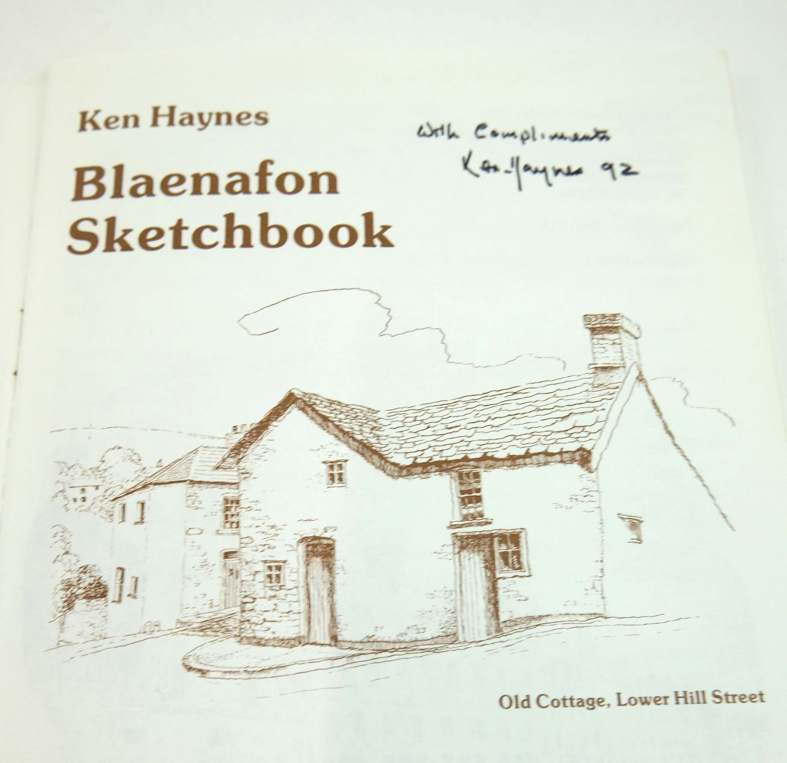 Photo of BLAENAFON SKETCHBOOK written by Haynes, Ken illustrated by Haynes, Ken published by The Starling Press (STOCK CODE: 1819384)  for sale by Stella & Rose's Books