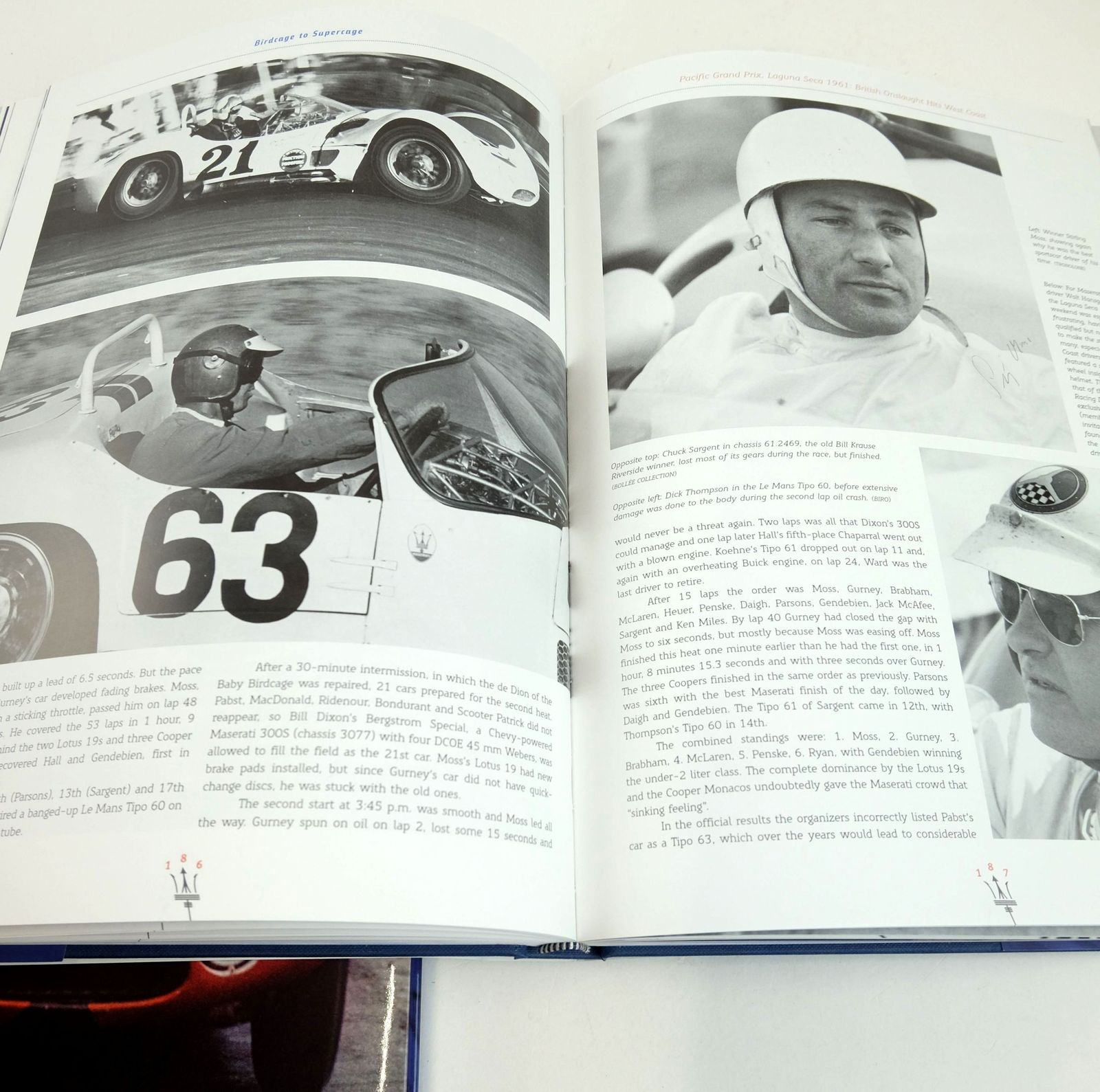 Photo of MASERATI TIPO 60 AND 61; MASERATI TIPO 63.64.65 (TWO VOLUMES) written by Oosthoek, Willem Bollee, Michel published by Dalton Watson Fine Books (STOCK CODE: 1819398)  for sale by Stella & Rose's Books