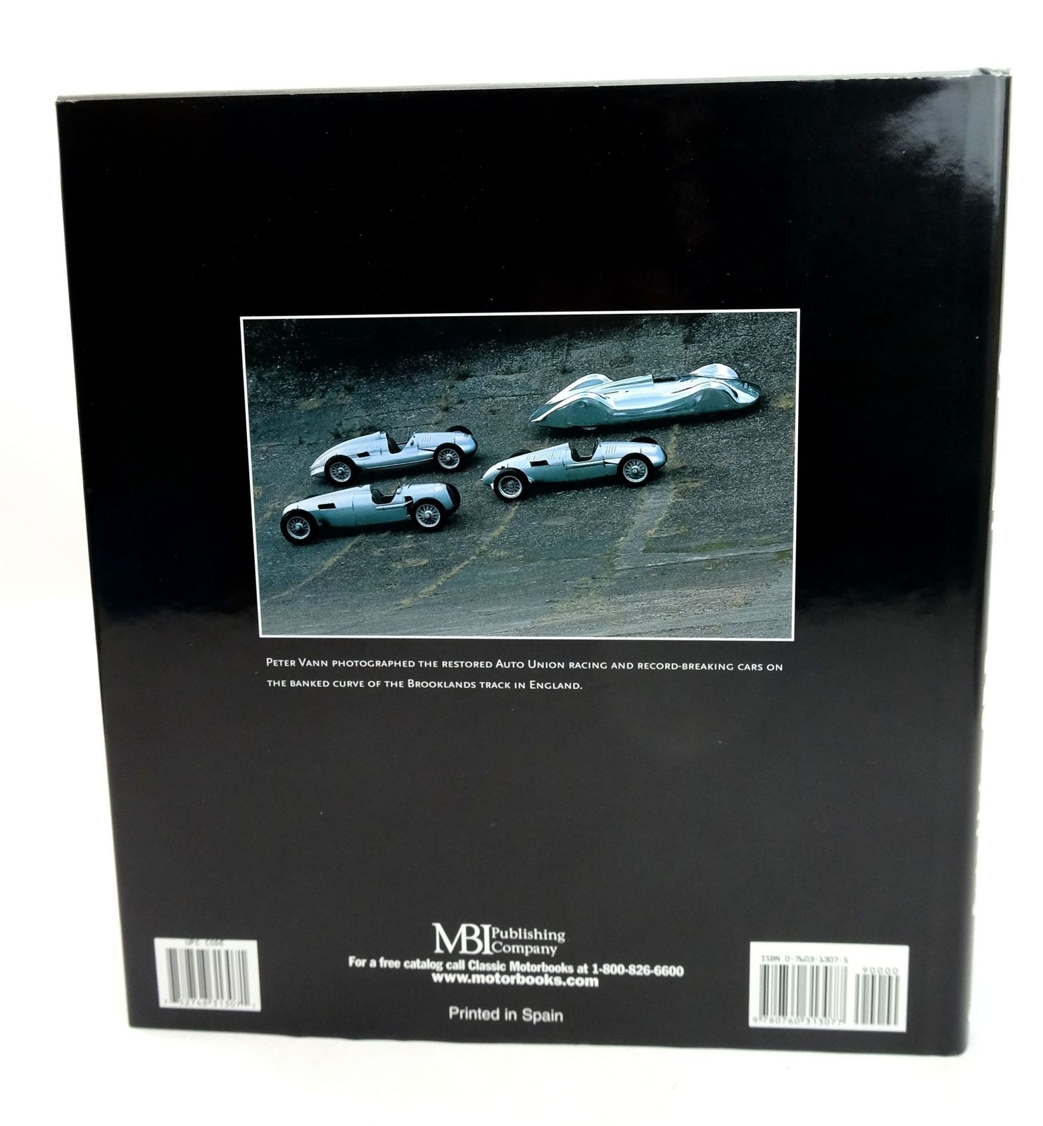 Photo of AUTO UNION GP RACE AND RECORD CARS: THEIR RECONSTRUCTION AND RESTORATION written by Vann, Peter
