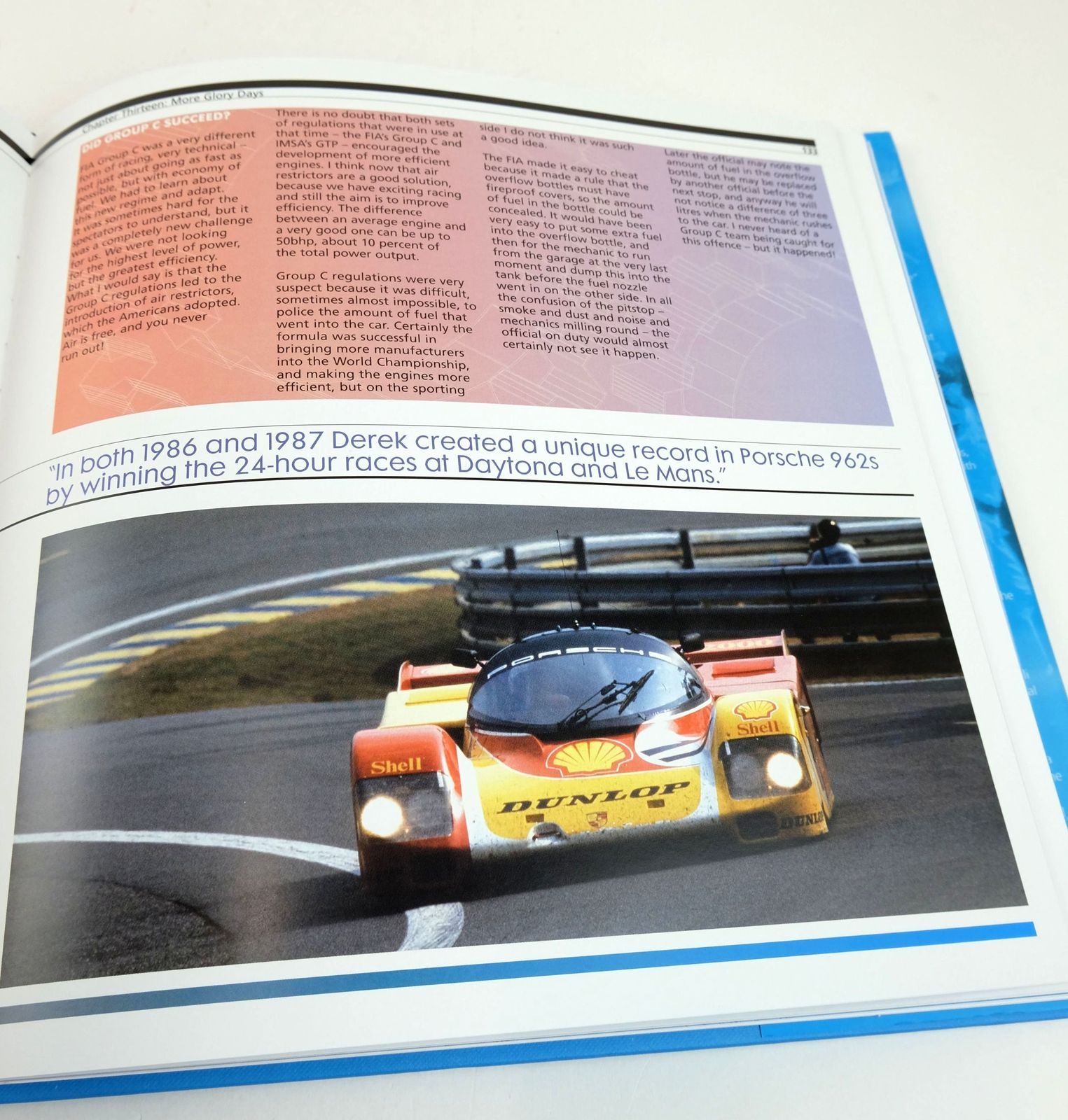 Photo of 24:16: LE MANS 24 HOURS, 16 WINS WITH PORSCHE written by Singer, Norbert