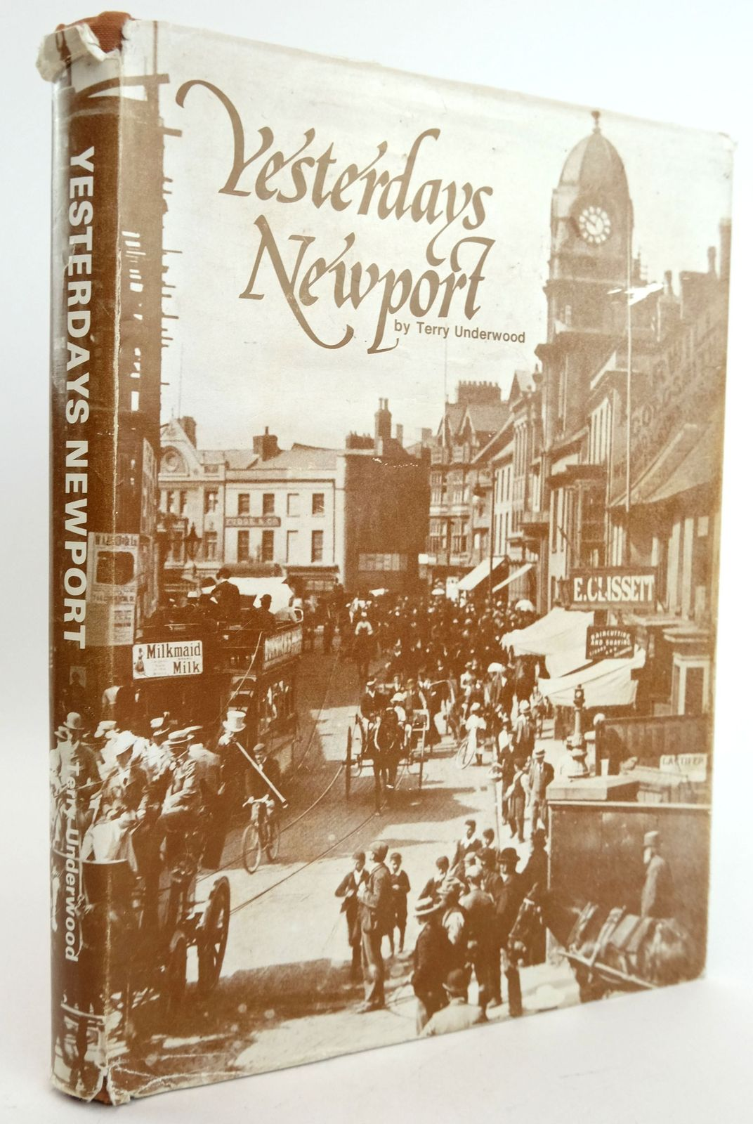 Photo of YESTERDAYS NEWPORT written by Underwood, Terry published by Terry Underwood (STOCK CODE: 1819423)  for sale by Stella & Rose's Books