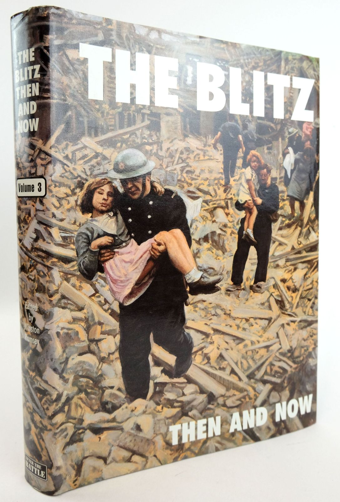 Photo of THE BLITZ THEN AND NOW VOLUME 3 written by Wakefield, Ken Ramsey, Winston G. et al,  published by Battle of Britain Prints International Ltd. (STOCK CODE: 1819436)  for sale by Stella & Rose's Books