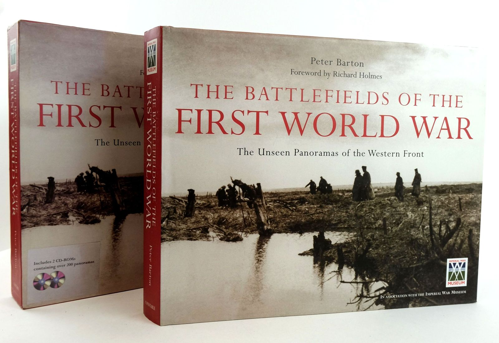 Photo of THE BATTLEFIELDS OF THE FIRST WORLD WAR: THE UNSEEN PANORAMAS OF THE WESTERN FRONT written by Barton, Peter published by Constable (STOCK CODE: 1819437)  for sale by Stella & Rose's Books