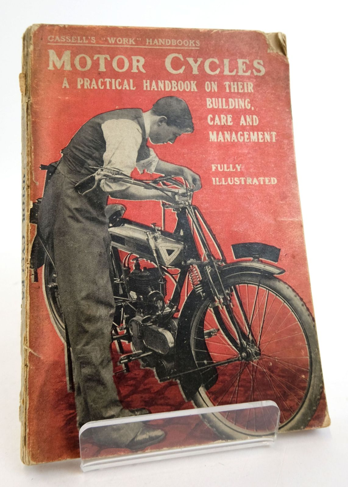 Photo of MOTOR CYCLES: A PRACTICAL HANDBOOK ON THEIR BUILDING, CARE AND MANAGEMENT- Stock Number: 1819441