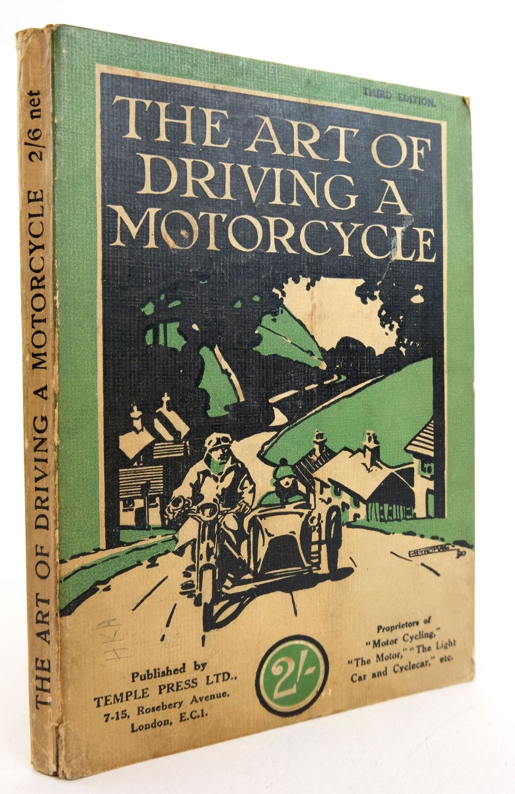 Photo of THE ART OF DRIVING A MOTORCYCLE- Stock Number: 1819444