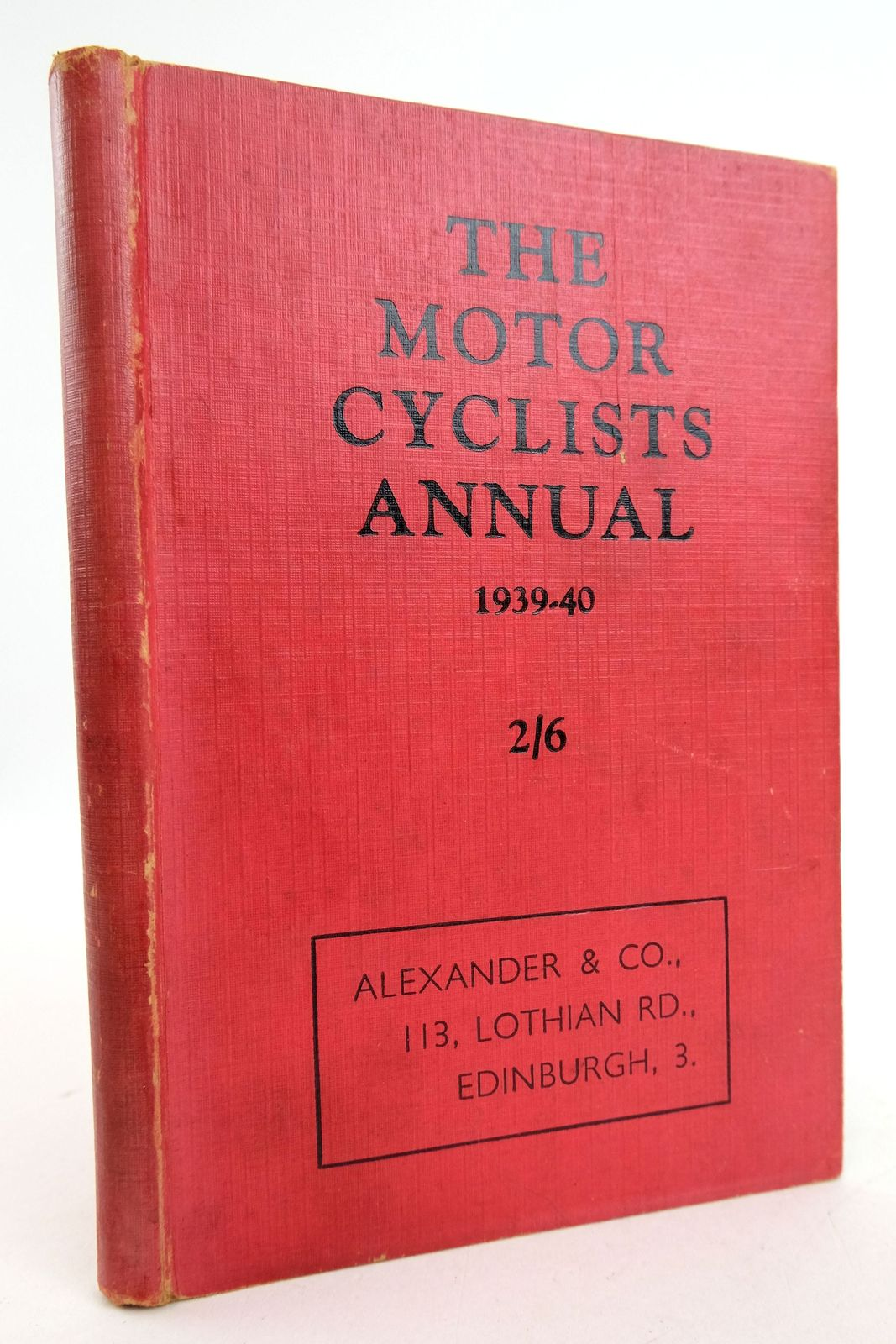 Photo of THE MOTOR CYCLISTS ANNUAL AND BUYER'S GUIDE 1939-40- Stock Number: 1819447