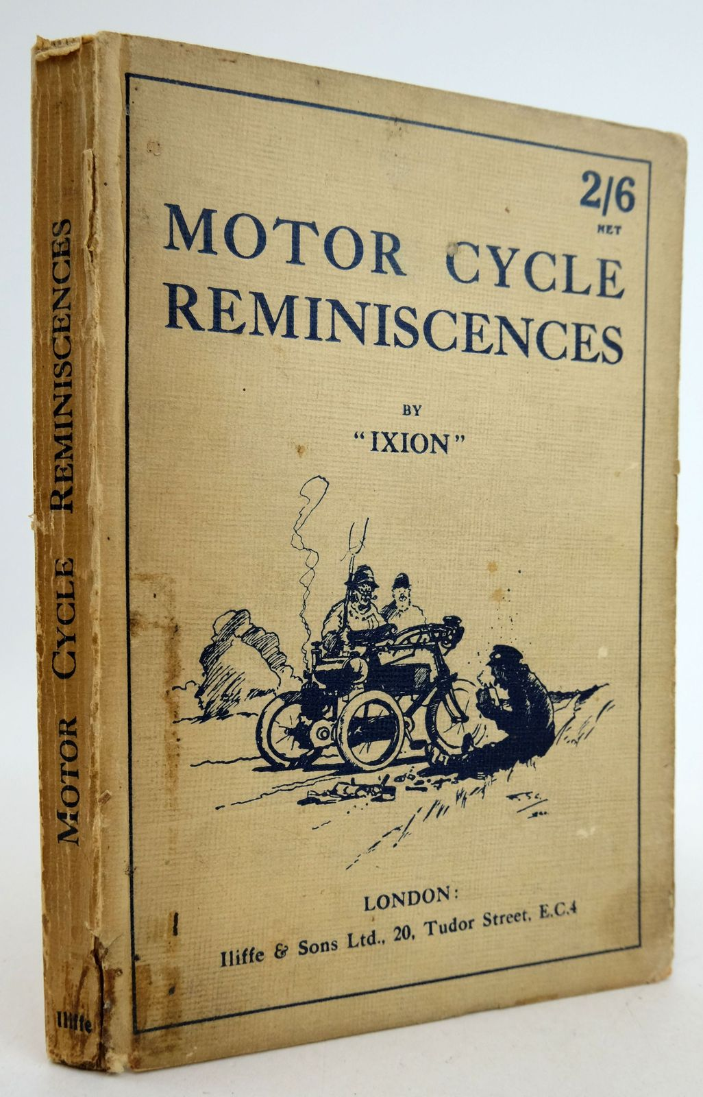Photo of MOTOR CYCLE REMINISCENCES- Stock Number: 1819450