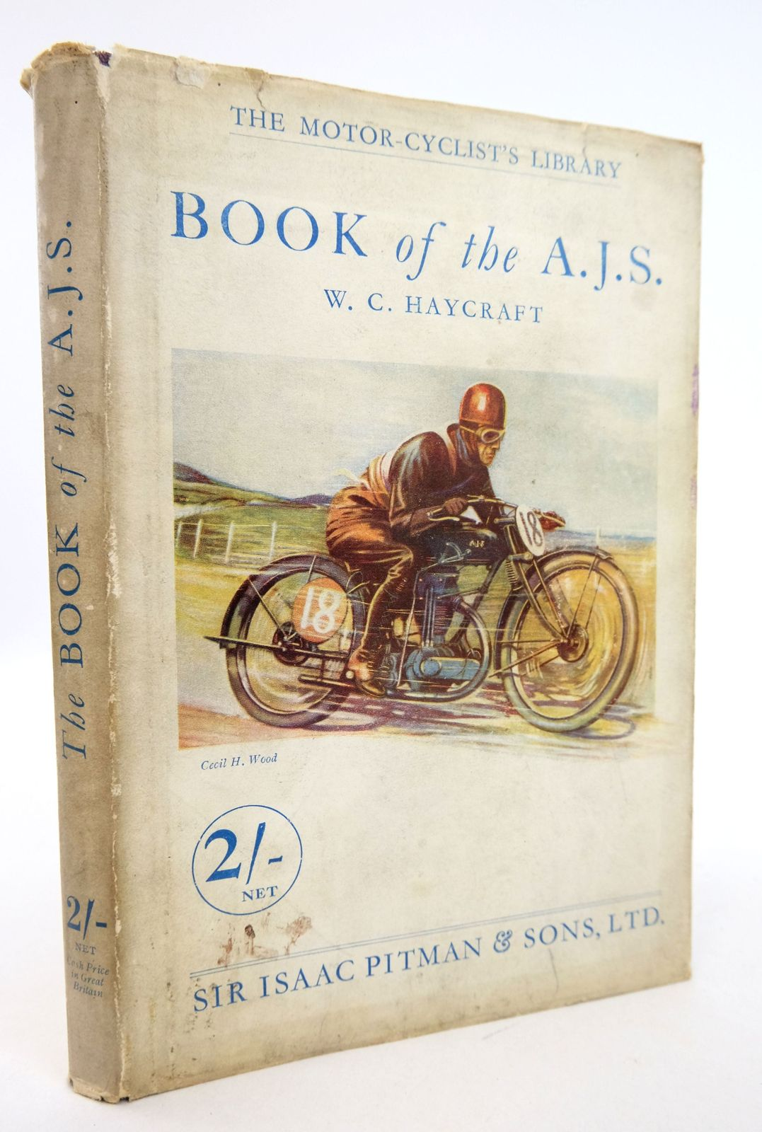 Photo of THE BOOK OF THE A.J.S. (THE MOTORCYCLIST'S LIBRARY)- Stock Number: 1819456