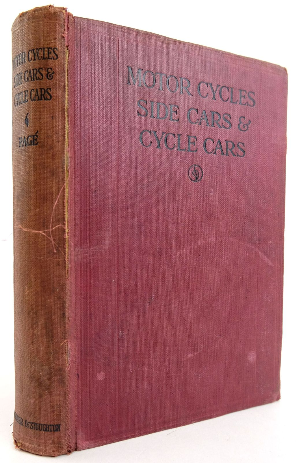 Photo of MOTORCYCLES SIDECARS AND CYCLECARS: CONSTRUCTION, MANAGEMENT, REPAIR- Stock Number: 1819457
