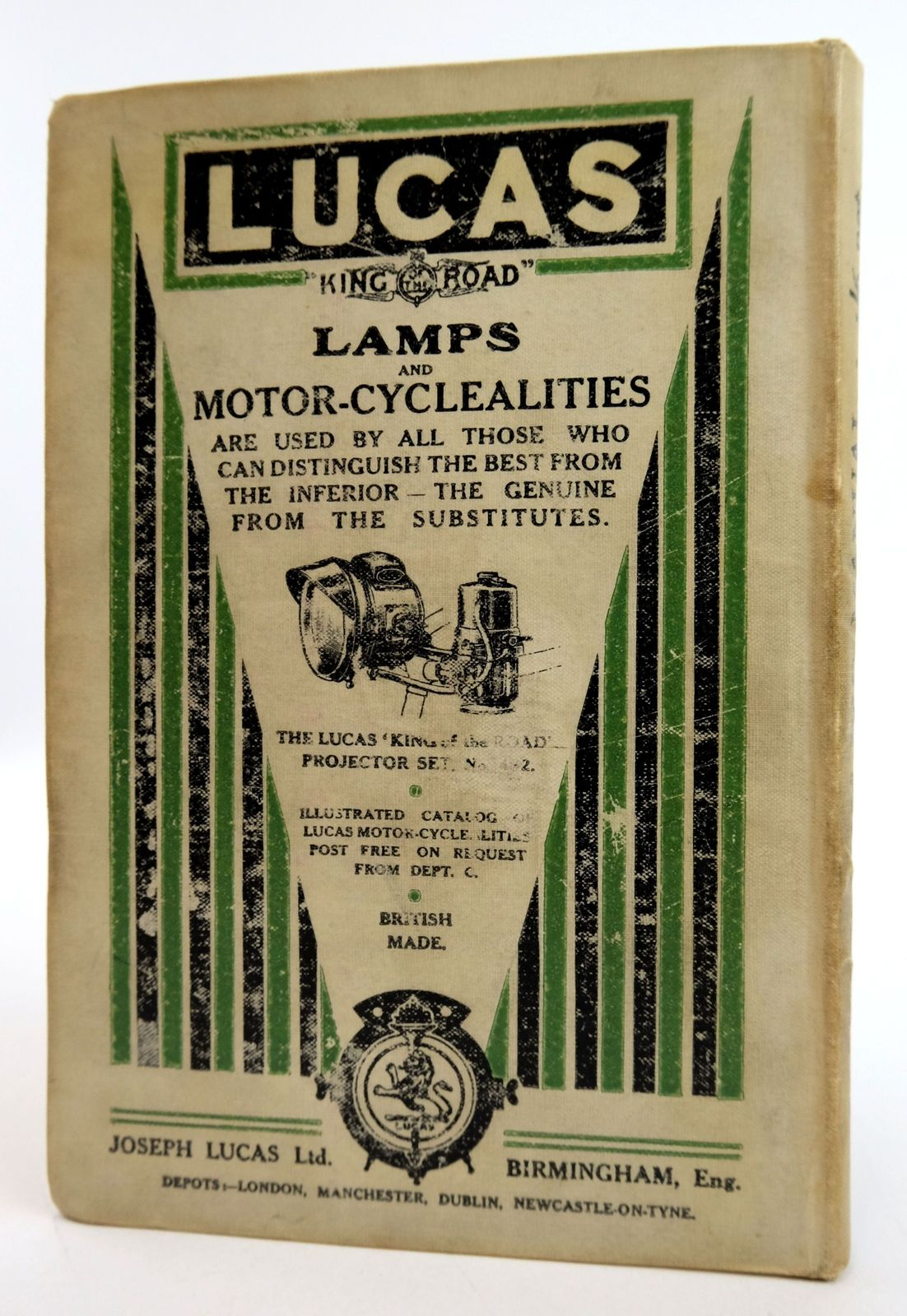Photo of MOTOR CYCLING MANUAL published by Temple Press Limited (STOCK CODE: 1819458)  for sale by Stella & Rose's Books
