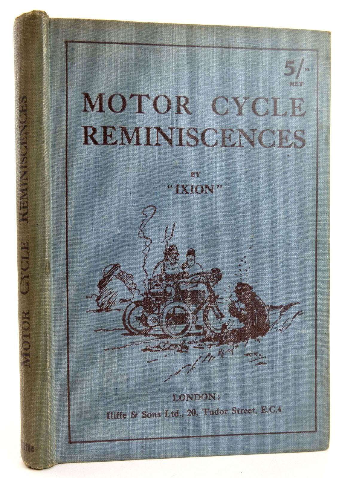 Photo of MOTOR CYCLE REMINISCENCES- Stock Number: 1819460