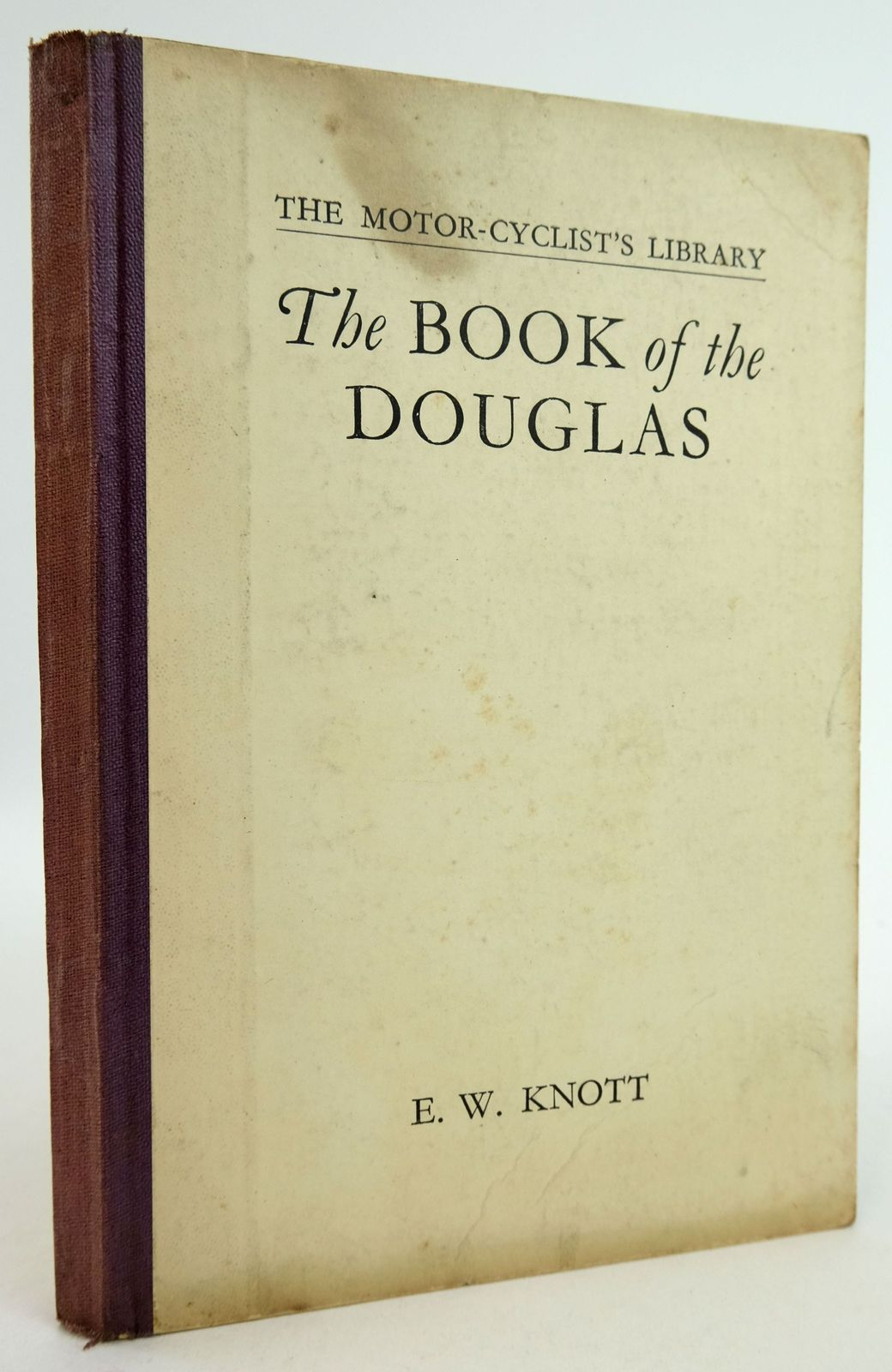 Photo of THE BOOK OF THE DOUGLAS (THE MOTOR-CYCLIST'S LIBRARY)- Stock Number: 1819461