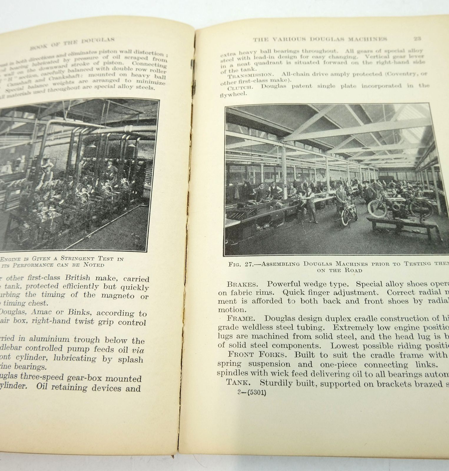 Photo of THE BOOK OF THE DOUGLAS (THE MOTOR-CYCLIST'S LIBRARY) written by Knott, Ernest W. published by Sir Isaac Pitman & Sons Ltd. (STOCK CODE: 1819461)  for sale by Stella & Rose's Books