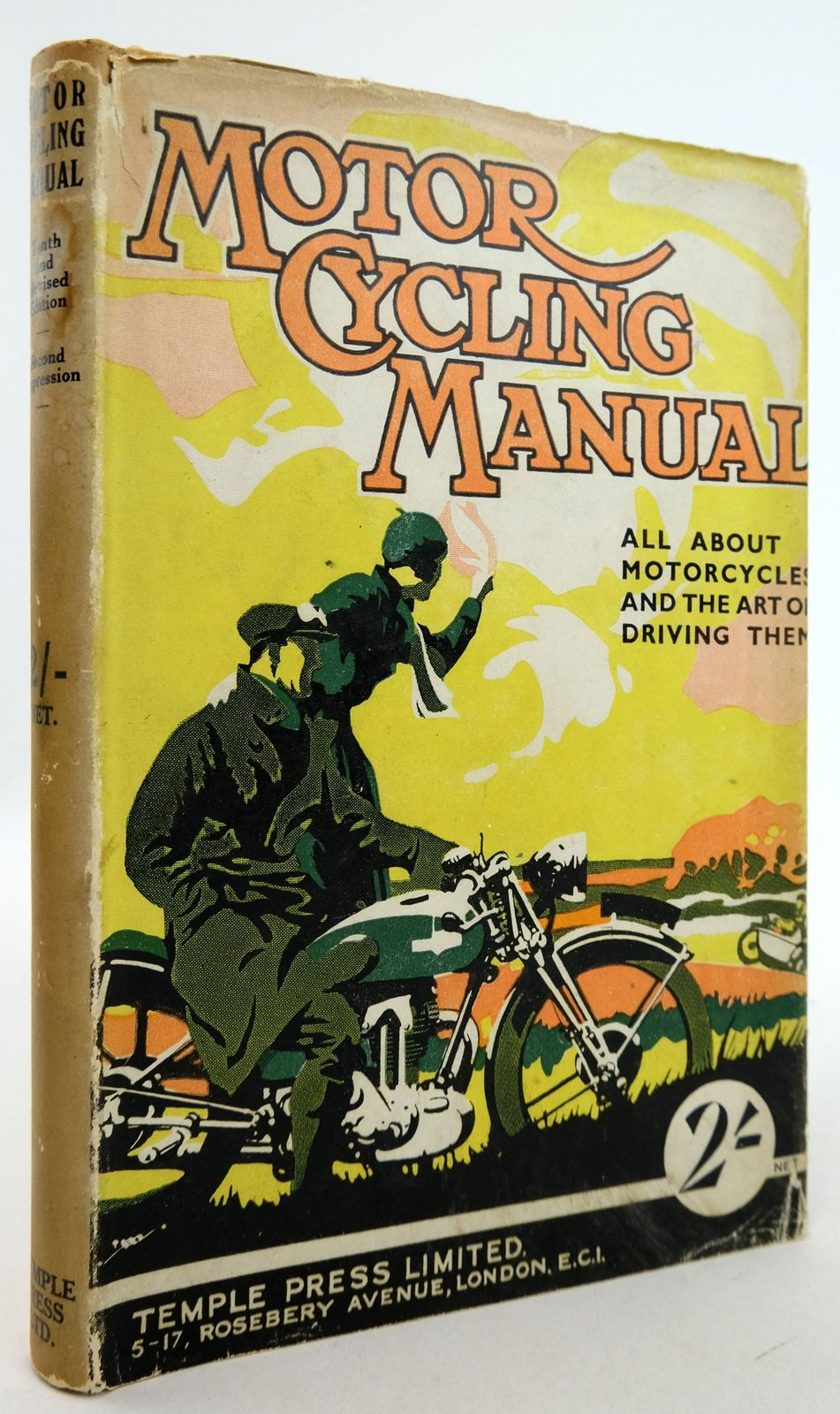 Photo of MOTOR CYCLING MANUAL- Stock Number: 1819462