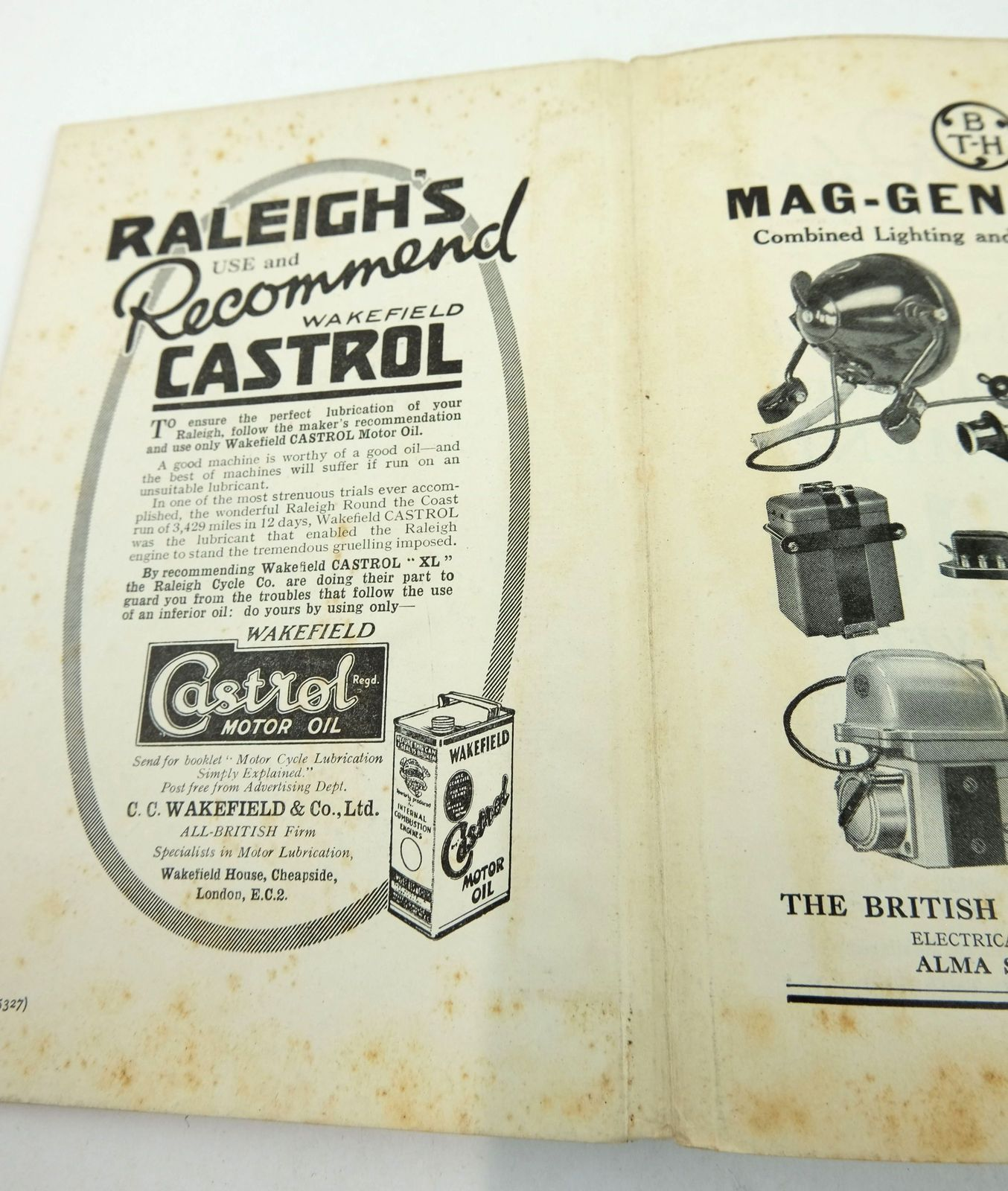 Photo of THE RALEIGH HANDBOOK (THE MOTOR-CYCLIST'S LIBRARY) written by Mentor, published by Sir Isaac Pitman & Sons Ltd. (STOCK CODE: 1819463)  for sale by Stella & Rose's Books