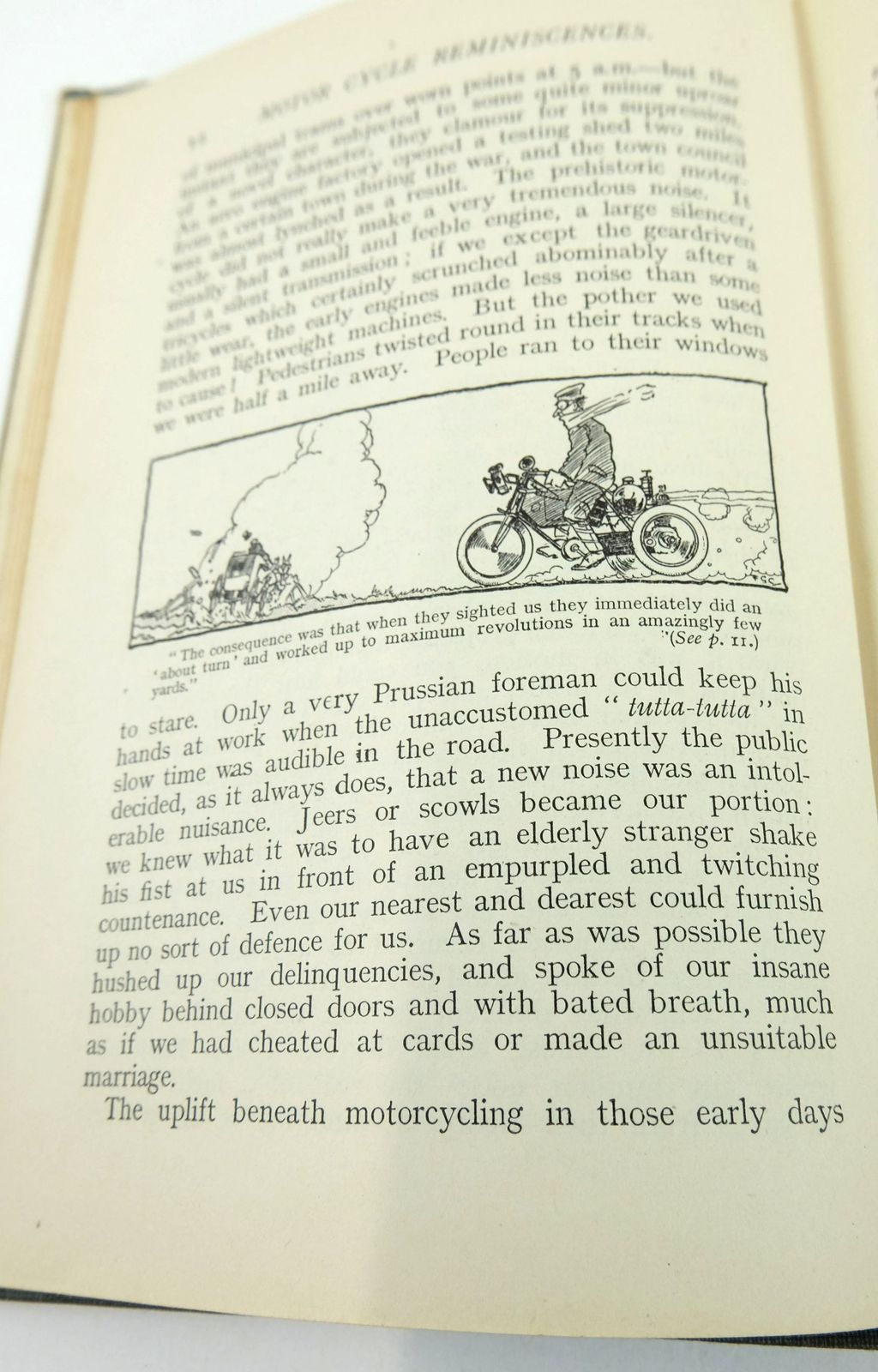 Photo of MOTOR CYCLE REMINISCENCES written by Ixion, published by Iliffe & Sons Limited (STOCK CODE: 1819464)  for sale by Stella & Rose's Books