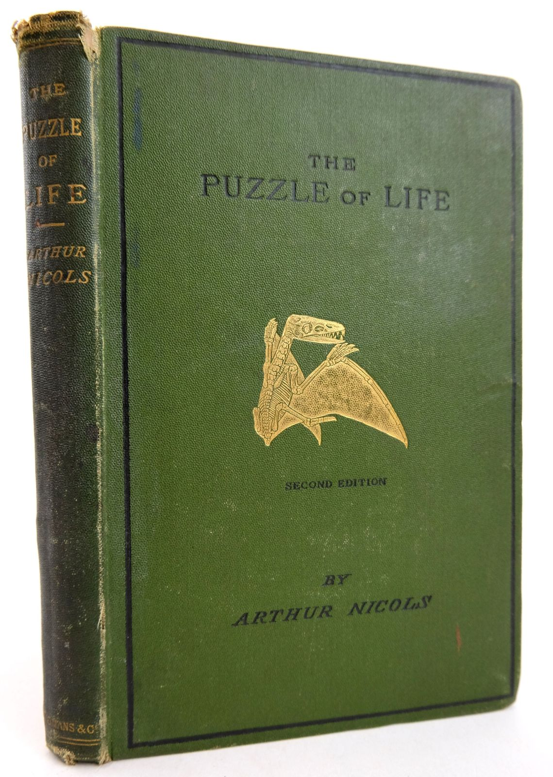 Photo of THE PUZZLE OF LIFE; AND HOW IT HAS BEEN PUT TOGETHER written by Nicols, Arthur published by Longmans, Green & Co. (STOCK CODE: 1819467)  for sale by Stella & Rose's Books