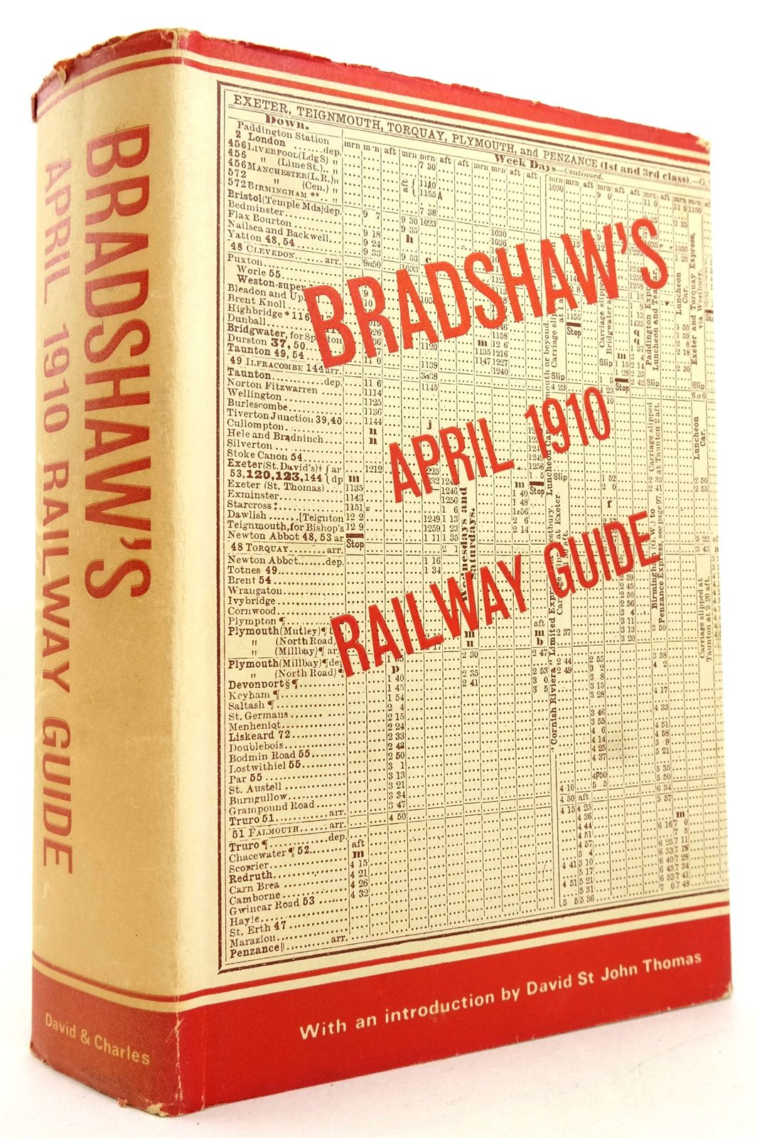 Photo of BRADSHAW'S APRIL 1910 RAILWAY GUIDE- Stock Number: 1819488