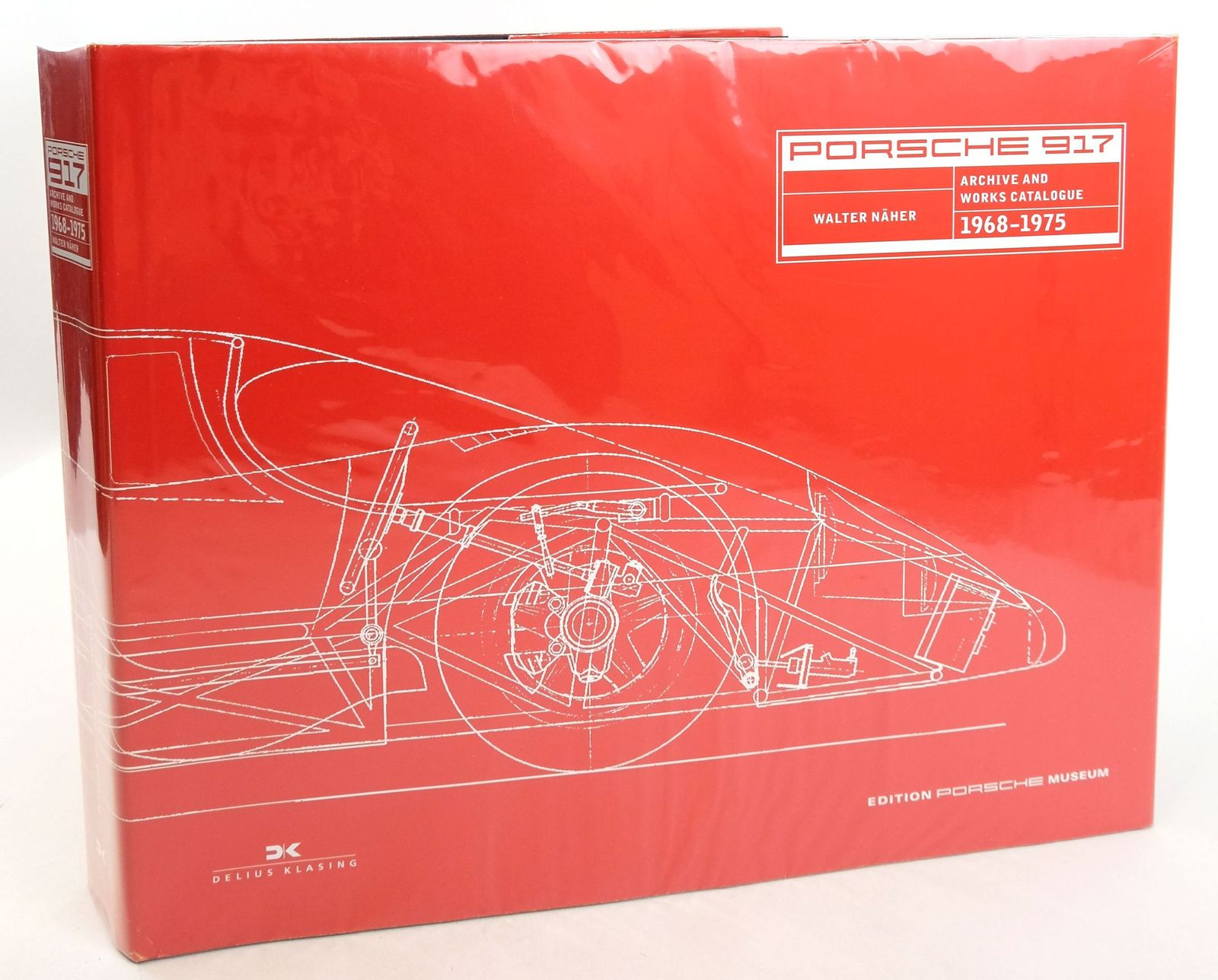 Photo of PORSCHE 917 ARCHIVE AND WORKS CATALOGUE 1968-1975