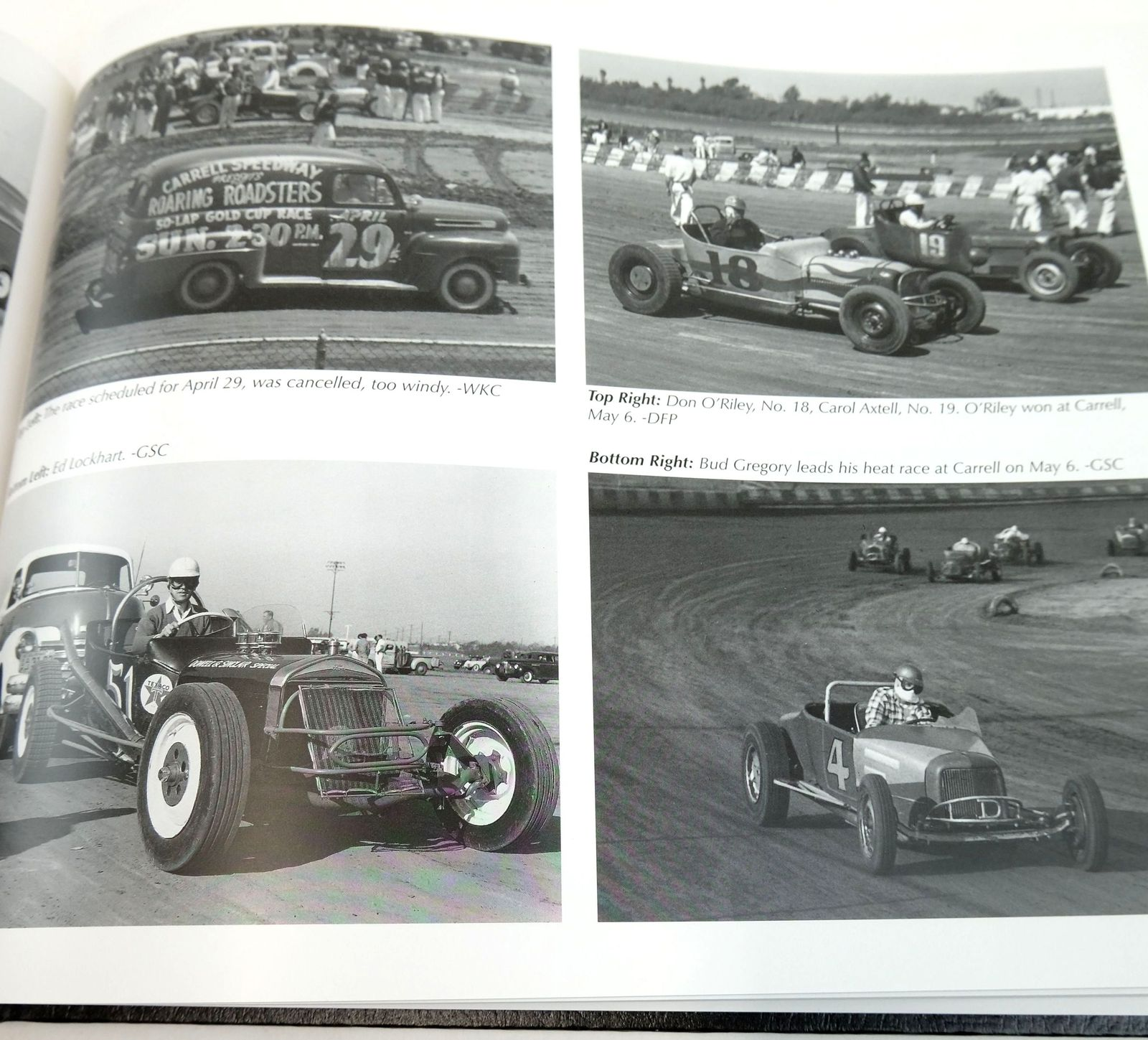 Photo of ROARING ROADSTERS: THE ROAD TO INDY written by Wallen, Dick published by Dick Wallen Productions (STOCK CODE: 1819516)  for sale by Stella & Rose's Books