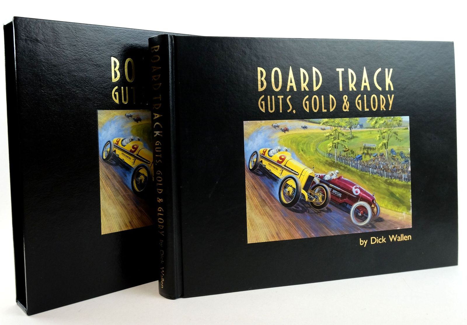 Photo of BOARD TRACK GUTS, GOLD & GLORY- Stock Number: 1819517