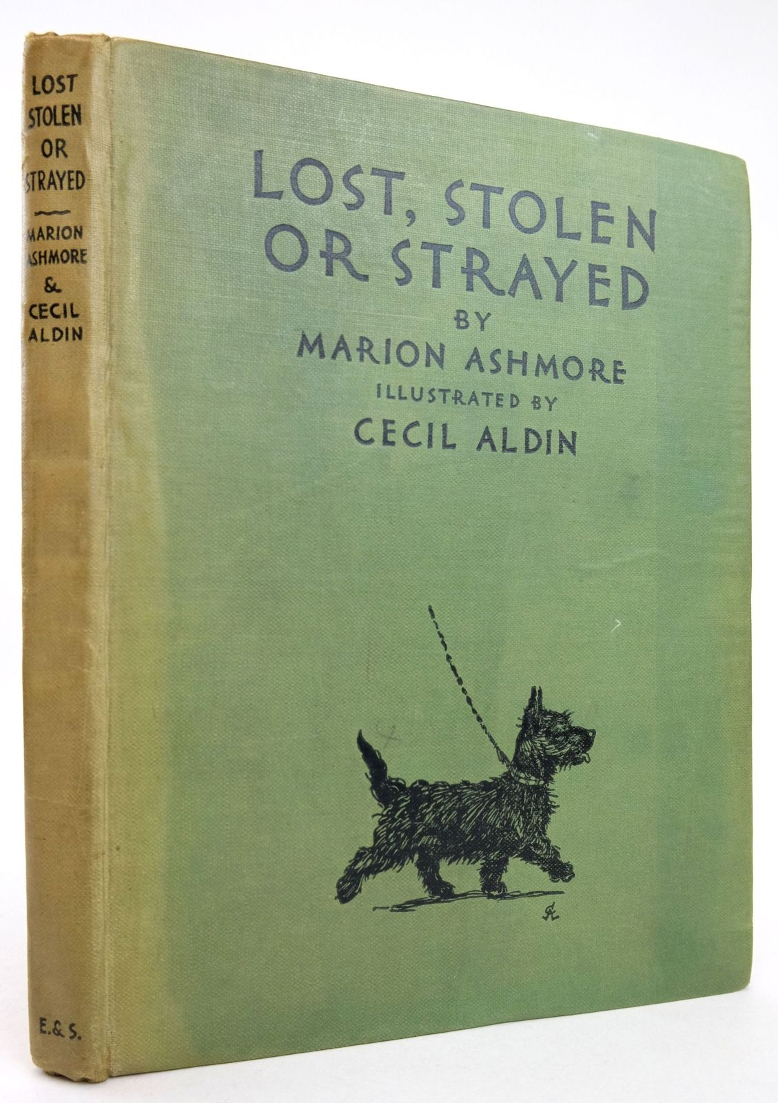 Photo of LOST, STOLEN, OR STRAYED written by Ashmore, Marion illustrated by Aldin, Cecil published by Eyre & Spottiswoode (STOCK CODE: 1819574)  for sale by Stella & Rose's Books