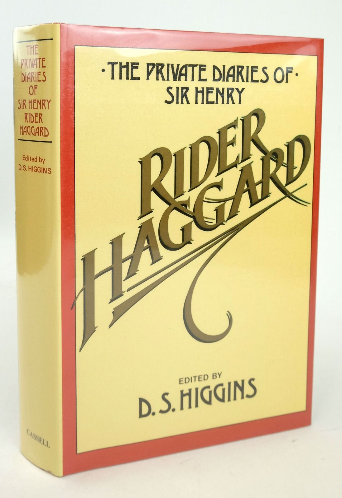 Photo of THE PRIVATE DIARIES OF SIR H RIDER HAGGARD 1914-1925 written by Higgins, D.S. published by Cassell (STOCK CODE: 1819587)  for sale by Stella & Rose's Books