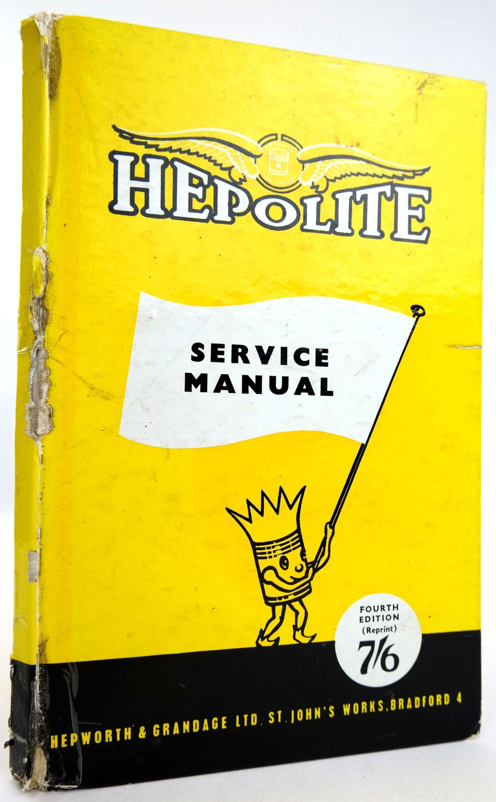 Photo of HEPOLITE SERVICE MANUAL published by Hepworth & Grandage Ltd. (STOCK CODE: 1819589)  for sale by Stella & Rose's Books