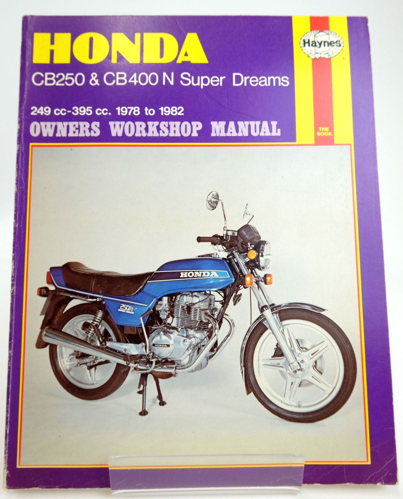Photo of HONDA CB250N & CB400N SUPER DREAMS OWNERS WORKSHOP MANUAL written by Meek, Martyn published by Haynes Publishing Group (STOCK CODE: 1819591)  for sale by Stella & Rose's Books