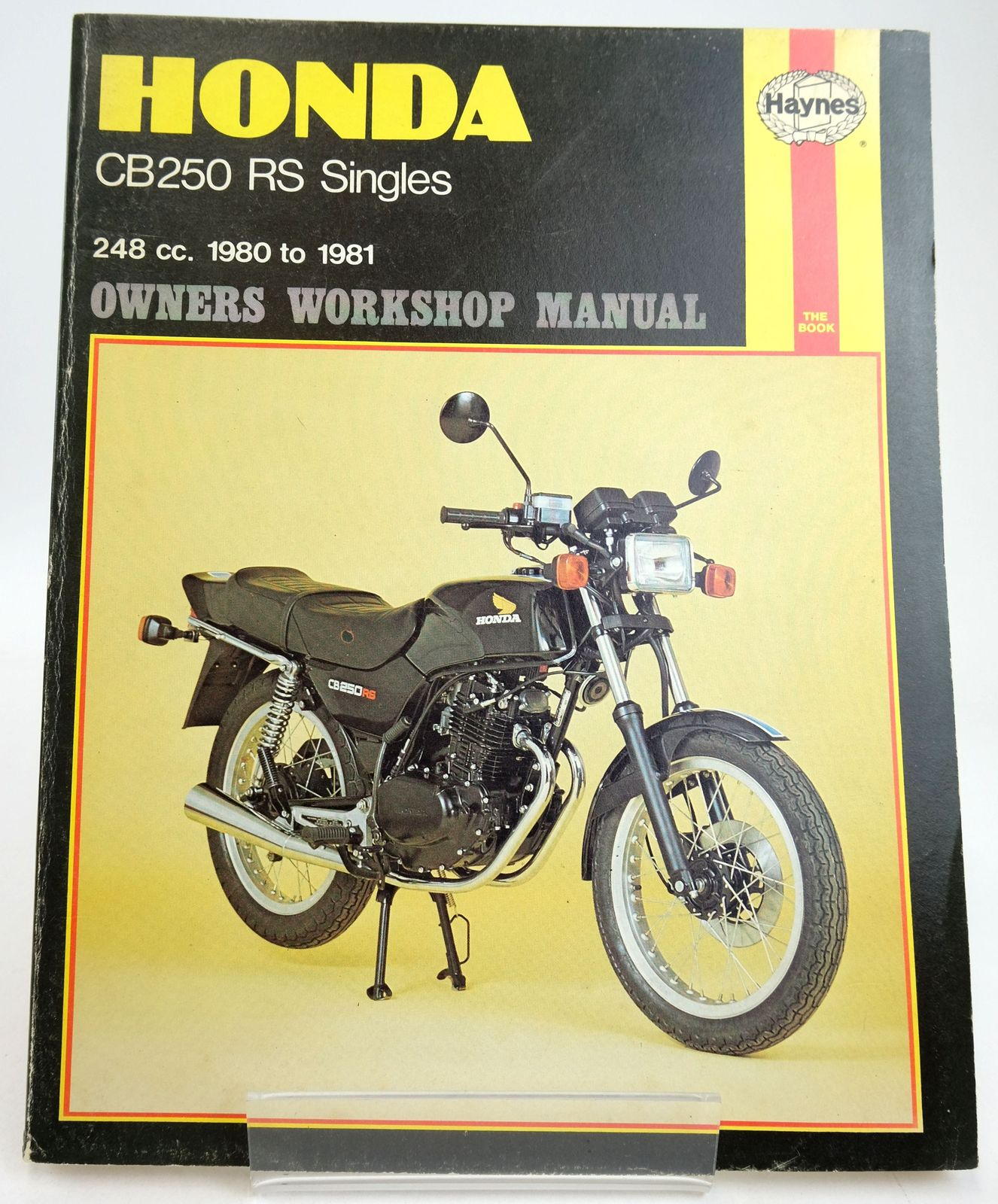 Photo of HONDA CB250 RS OWNERS WORKSHOP MANUAL written by Shoemark, Pete published by Haynes Publishing Group (STOCK CODE: 1819593)  for sale by Stella & Rose's Books