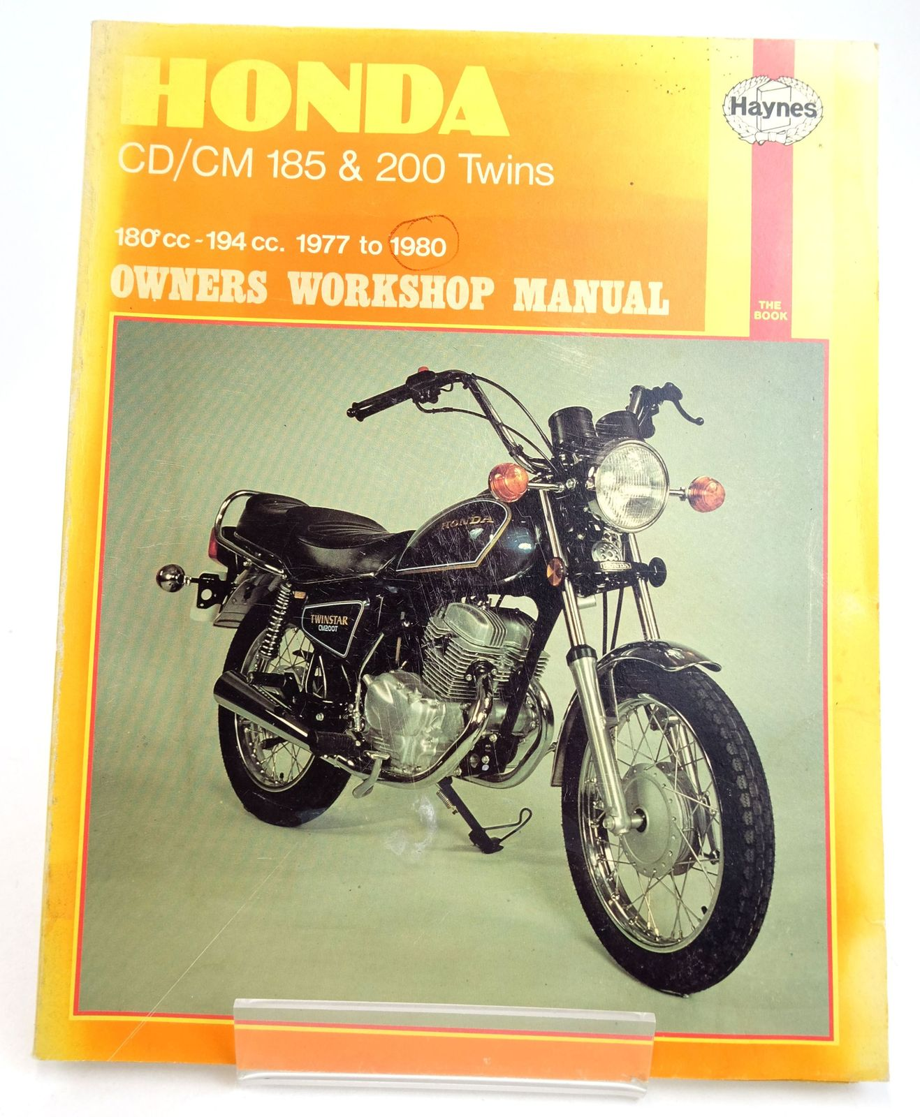 Photo of HONDA CD185/200 AND CM185/200 OWNERS WORKSHOP MANUAL written by Meek, Martyn published by Haynes Publishing Group (STOCK CODE: 1819594)  for sale by Stella & Rose's Books