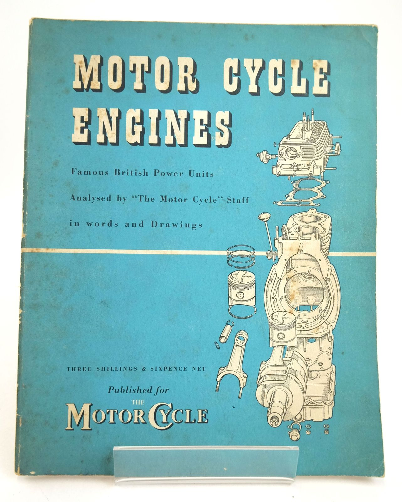Photo of MOTOR CYCLE ENGINES published by Iliffe & Sons Limited (STOCK CODE: 1819605)  for sale by Stella & Rose's Books