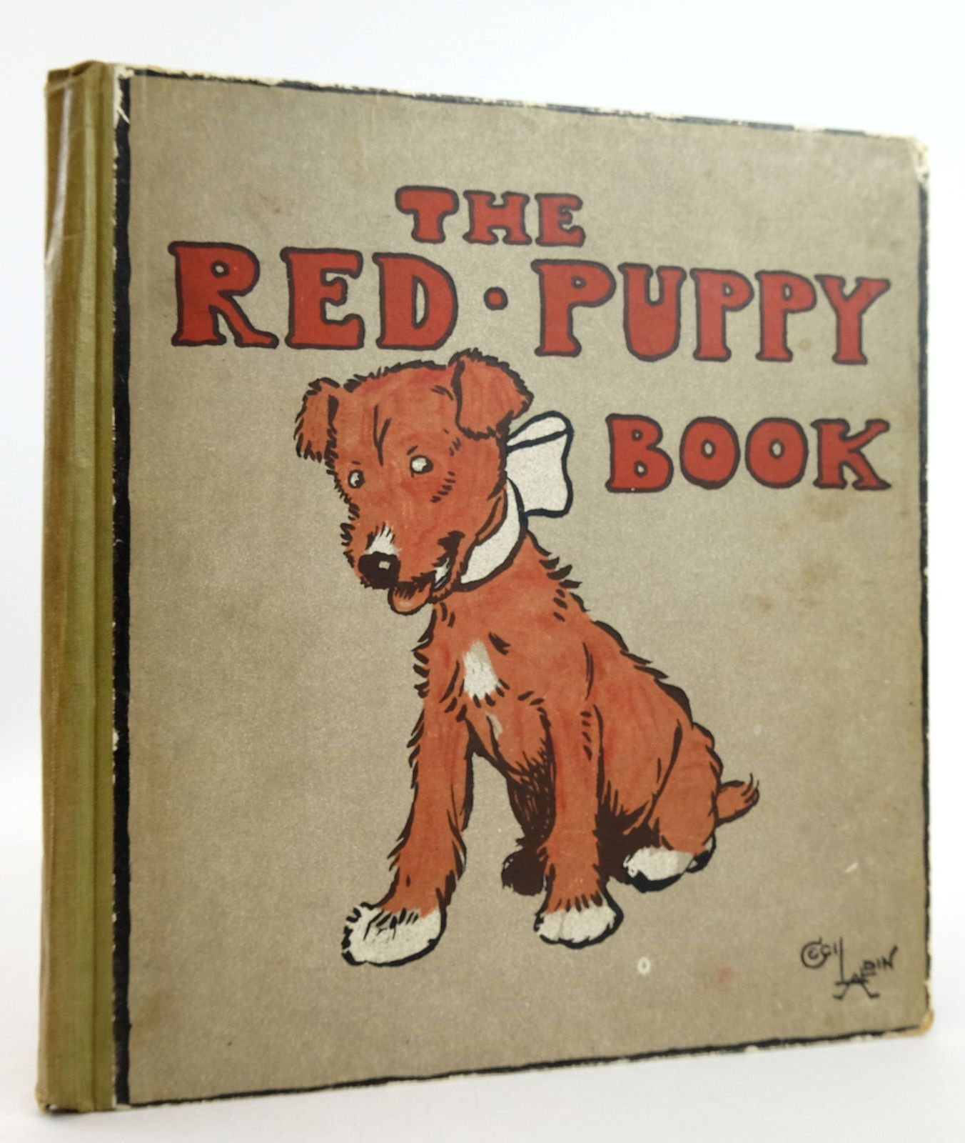 Photo of THE RED PUPPY BOOK written by Aldin, Cecil illustrated by Aldin, Cecil published by Henry Frowde, Hodder & Stoughton (STOCK CODE: 1819646)  for sale by Stella & Rose's Books