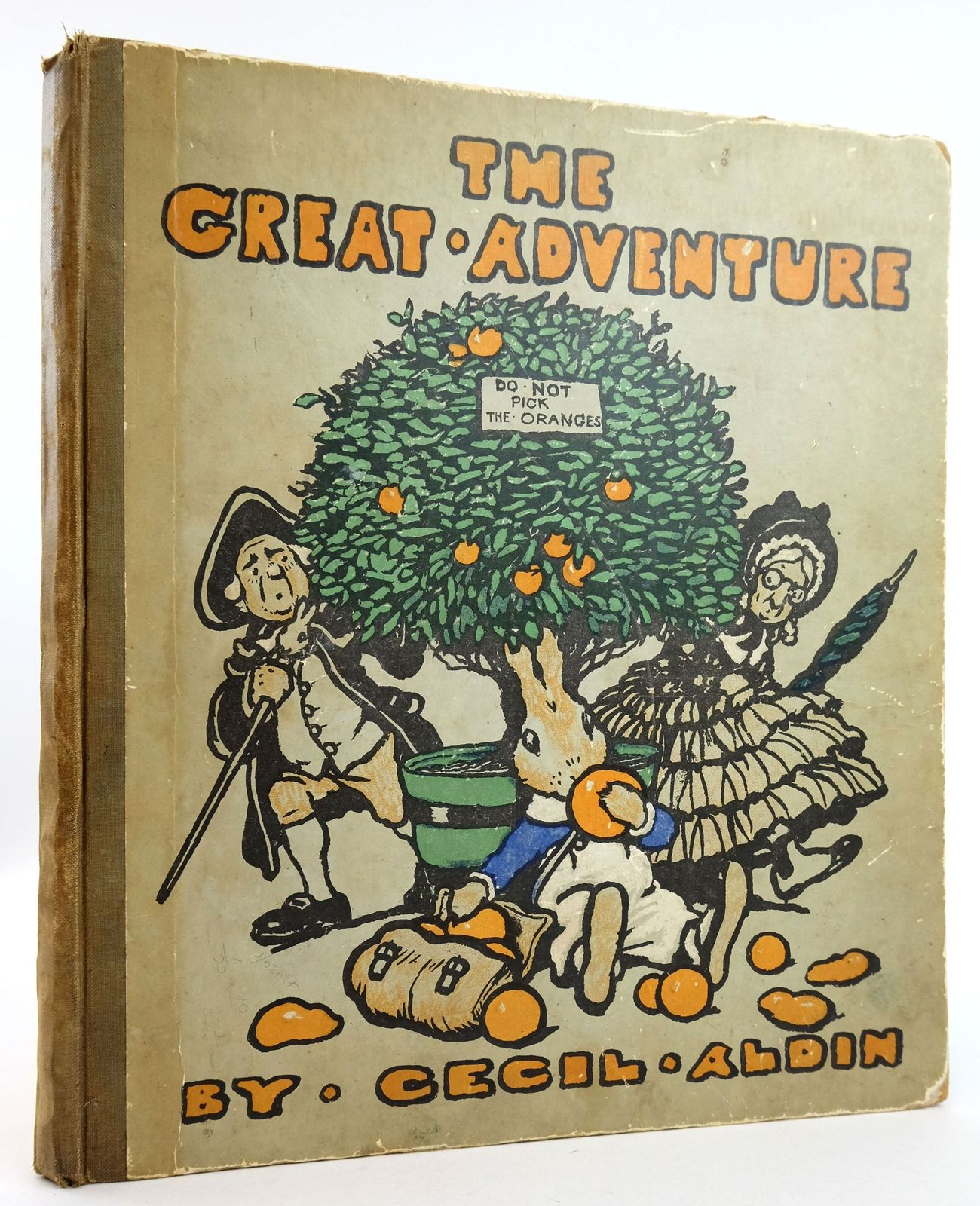 Photo of THE GREAT ADVENTURE written by Aldin, Cecil illustrated by Aldin, Cecil published by Humphrey Milford (STOCK CODE: 1819648)  for sale by Stella & Rose's Books