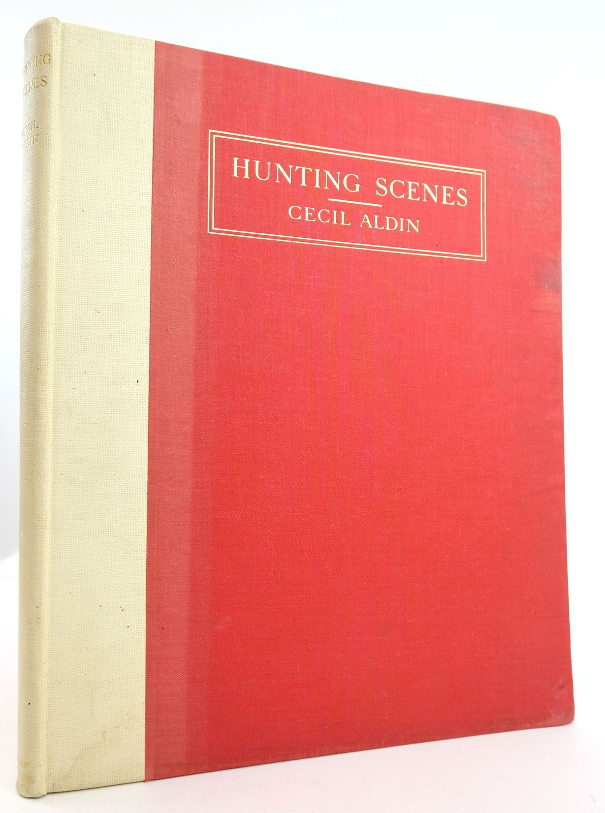 Photo of HUNTING SCENES written by Sabretache,  illustrated by Aldin, Cecil published by Eyre & Spottiswoode (STOCK CODE: 1819649)  for sale by Stella & Rose's Books