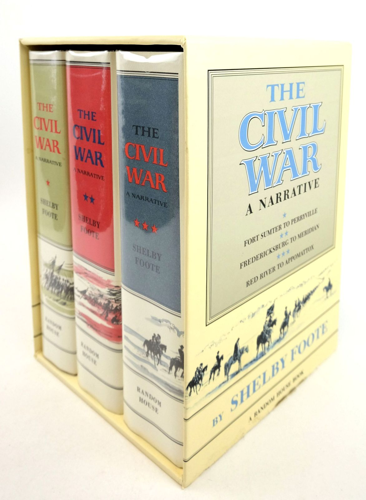 Photo of THE CIVIL WAR A NARRATIVE (THREE VOLUMES)- Stock Number: 1819655