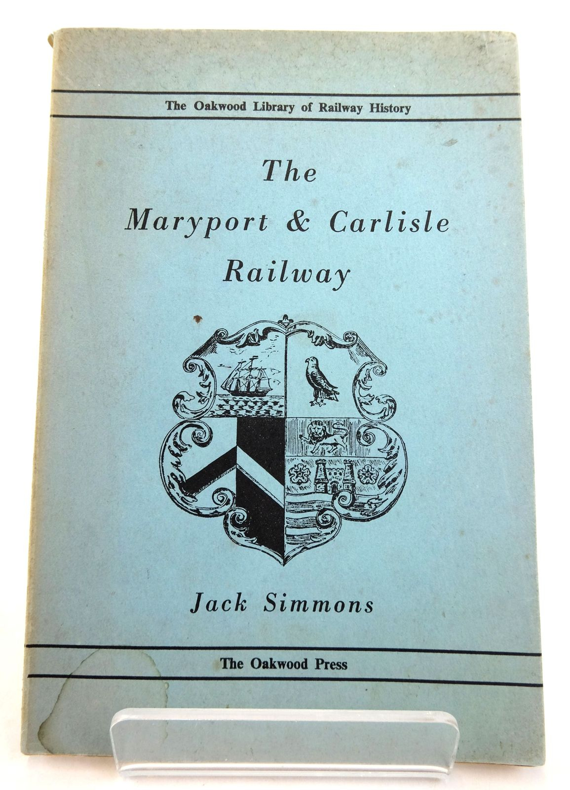 Photo of THE MARYPORT & CARLISLE RAILWAY written by Simmons, Jack published by The Oakwood Press (STOCK CODE: 1819677)  for sale by Stella & Rose's Books