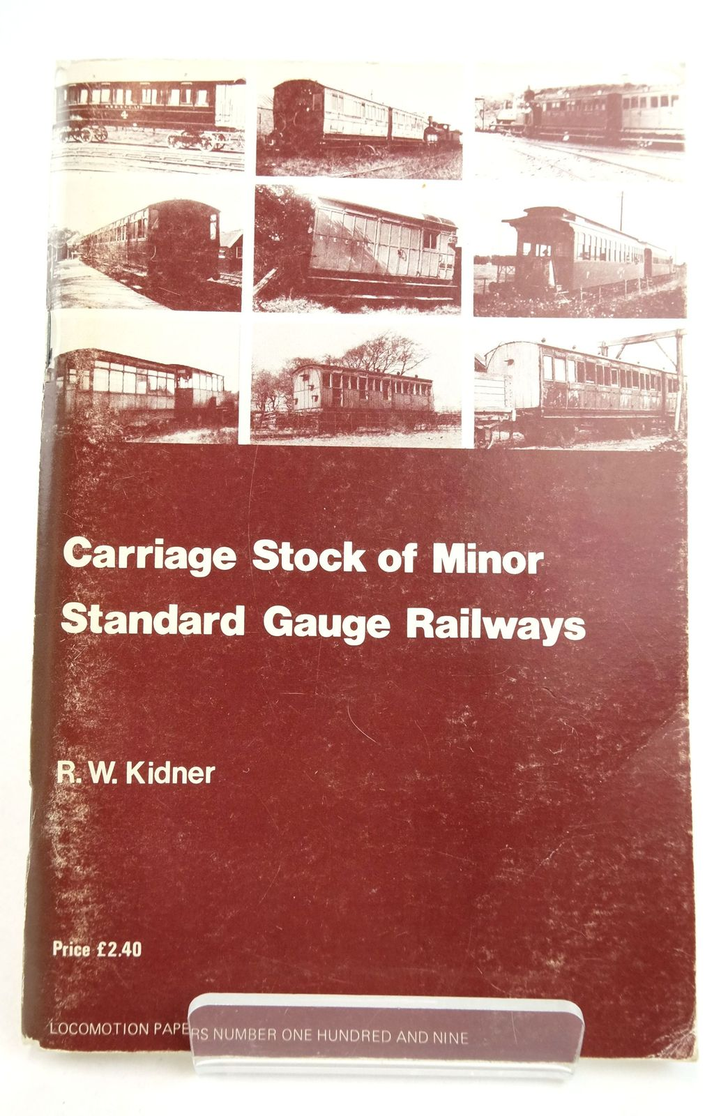 Photo of THE CARRIAGE STOCK OF MINOR STANDARD GAUGE RAILWAYS- Stock Number: 1819686