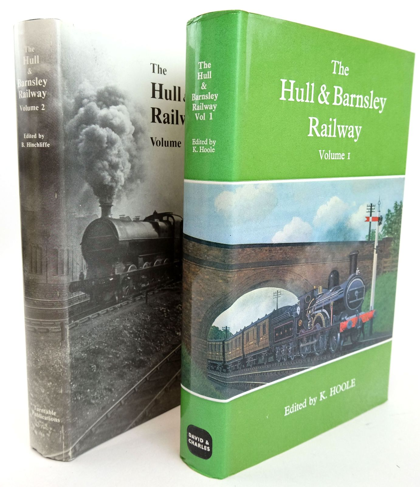 Photo of THE HULL & BARNSLEY RAILWAY (2 VOLUMES) written by Hoole, Ken Hinchliffe, B. et al, published by David & Charles (STOCK CODE: 1819687)  for sale by Stella & Rose's Books
