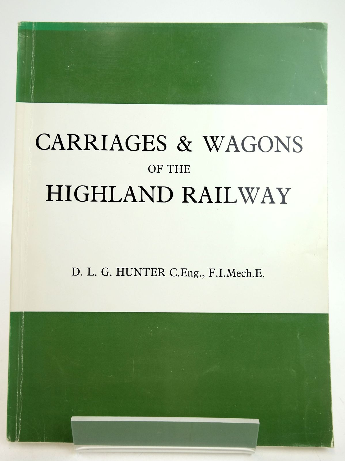 Photo of CARRIAGES AND WAGONS OF THE HIGHLAND RAILWAY written by Hunter, D.L.G. published by Turntable Enterprises (STOCK CODE: 1819688)  for sale by Stella & Rose's Books