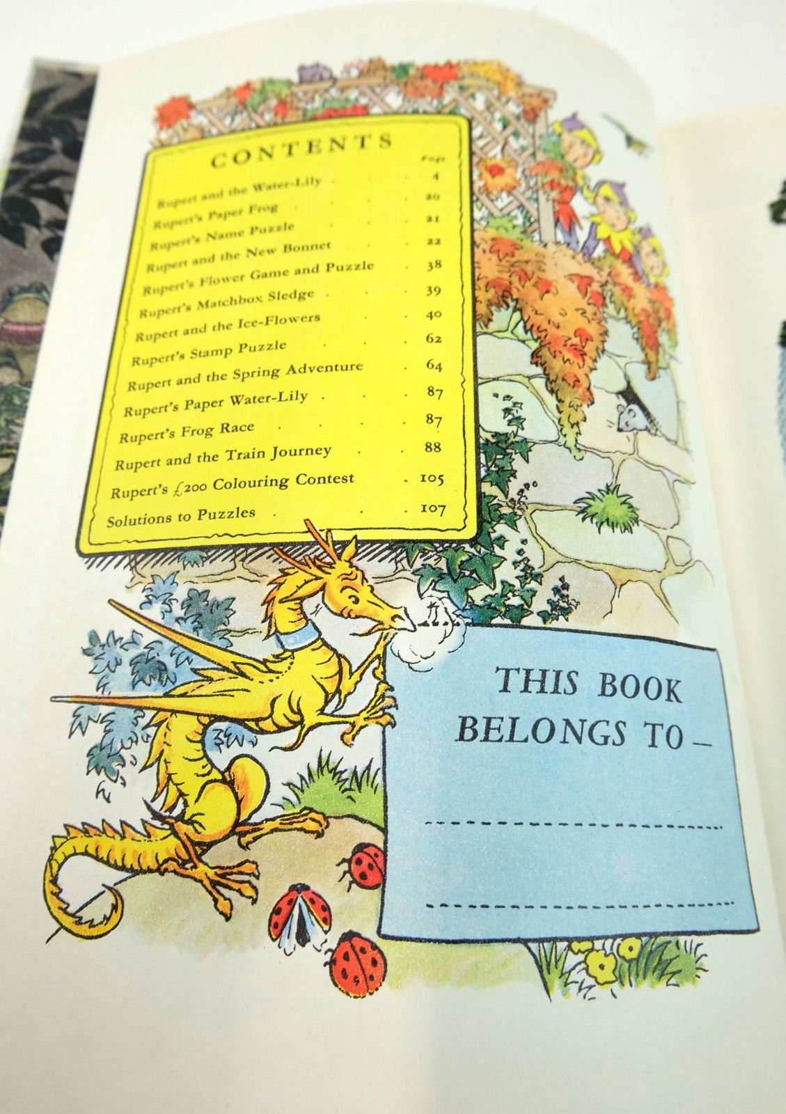 Photo of RUPERT ANNUAL 1958 written by Bestall, Alfred illustrated by Bestall, Alfred published by Daily Express (STOCK CODE: 1819697)  for sale by Stella & Rose's Books