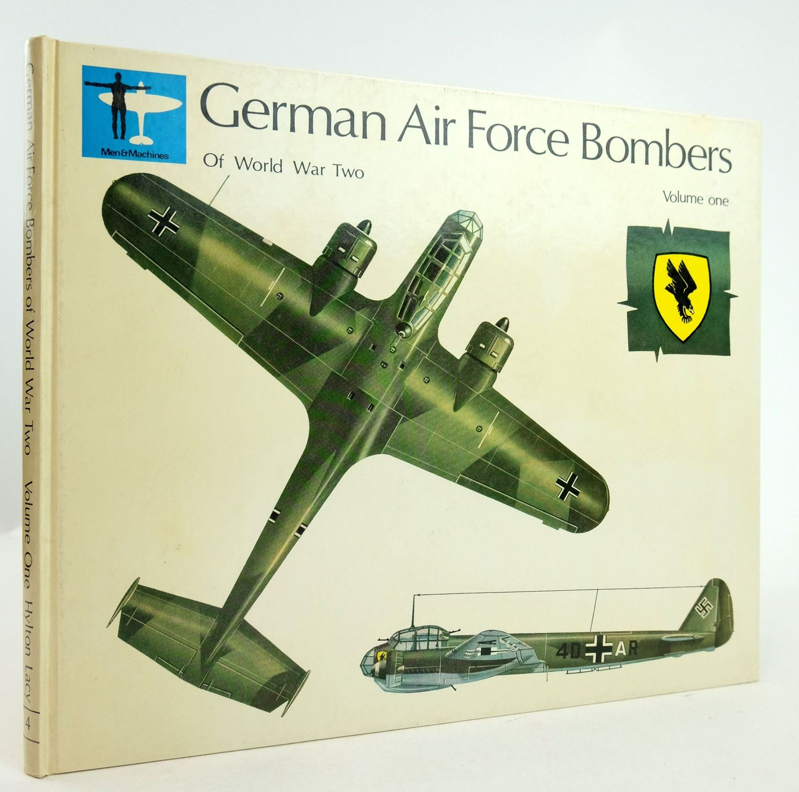 Photo of GERMAN AIR FORCE BOMBERS OF WORLD WAR TWO VOLUME ONE written by Price, Alfred illustrated by Roffe, Michael published by Hylton Lacy Publishers Limited (STOCK CODE: 1819709)  for sale by Stella & Rose's Books
