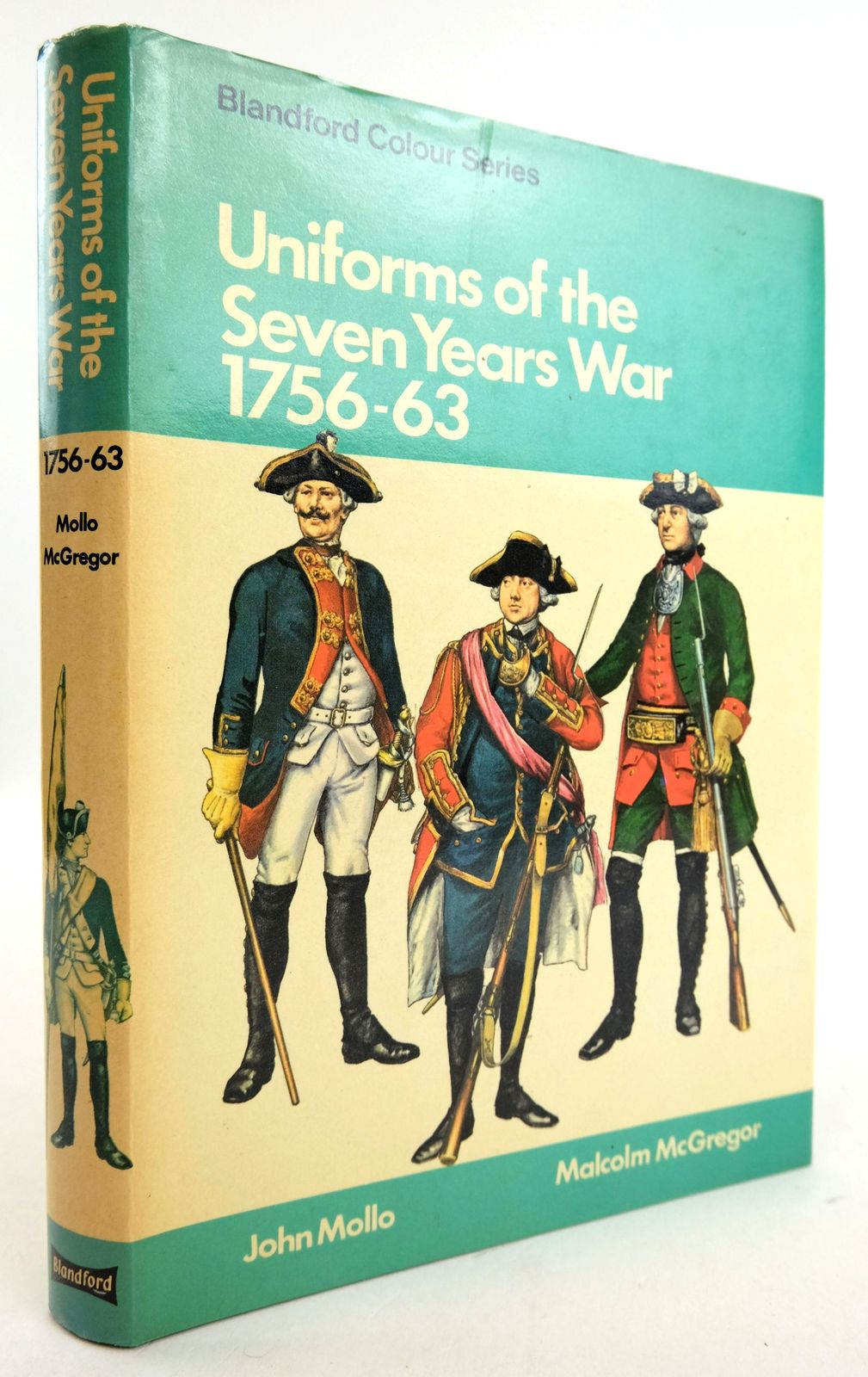 Photo of UNIFORMS OF THE SEVEN YEARS WAR 1756-1763 (BLANDFORD COLOUR SERIES)- Stock Number: 1819729