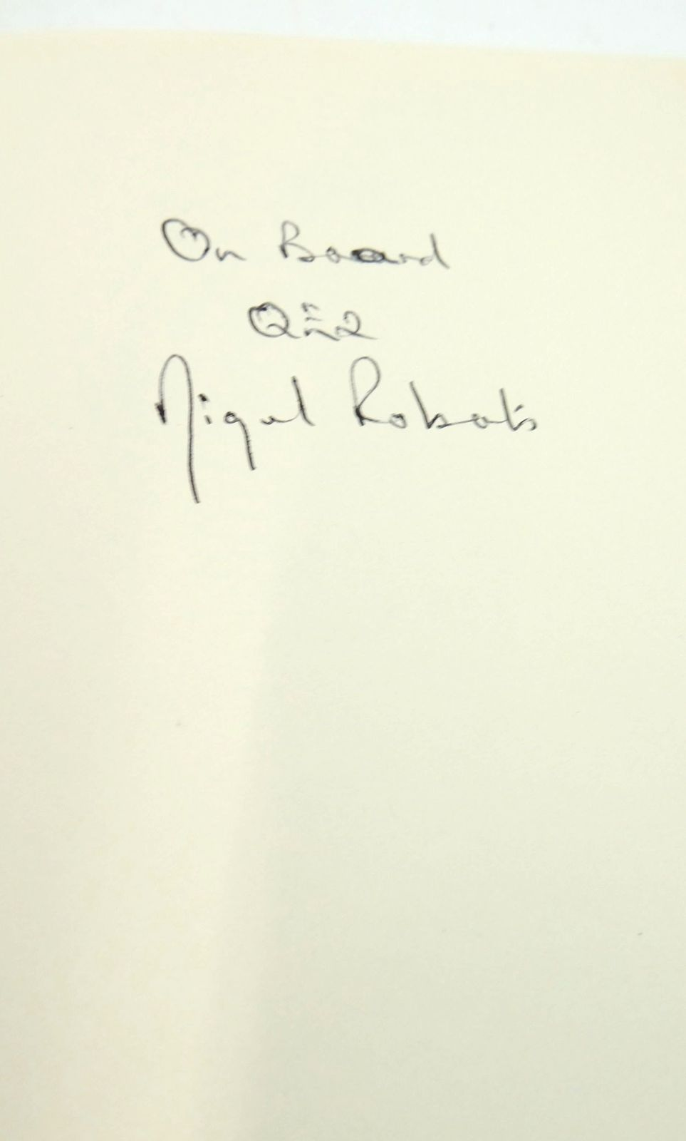 Photo of C-SIZE: TEN YEARS AS THE DOCTOR OF THE QE2 written by Roberts, Nigel published by Sidgwick & Jackson (STOCK CODE: 1819751)  for sale by Stella & Rose's Books