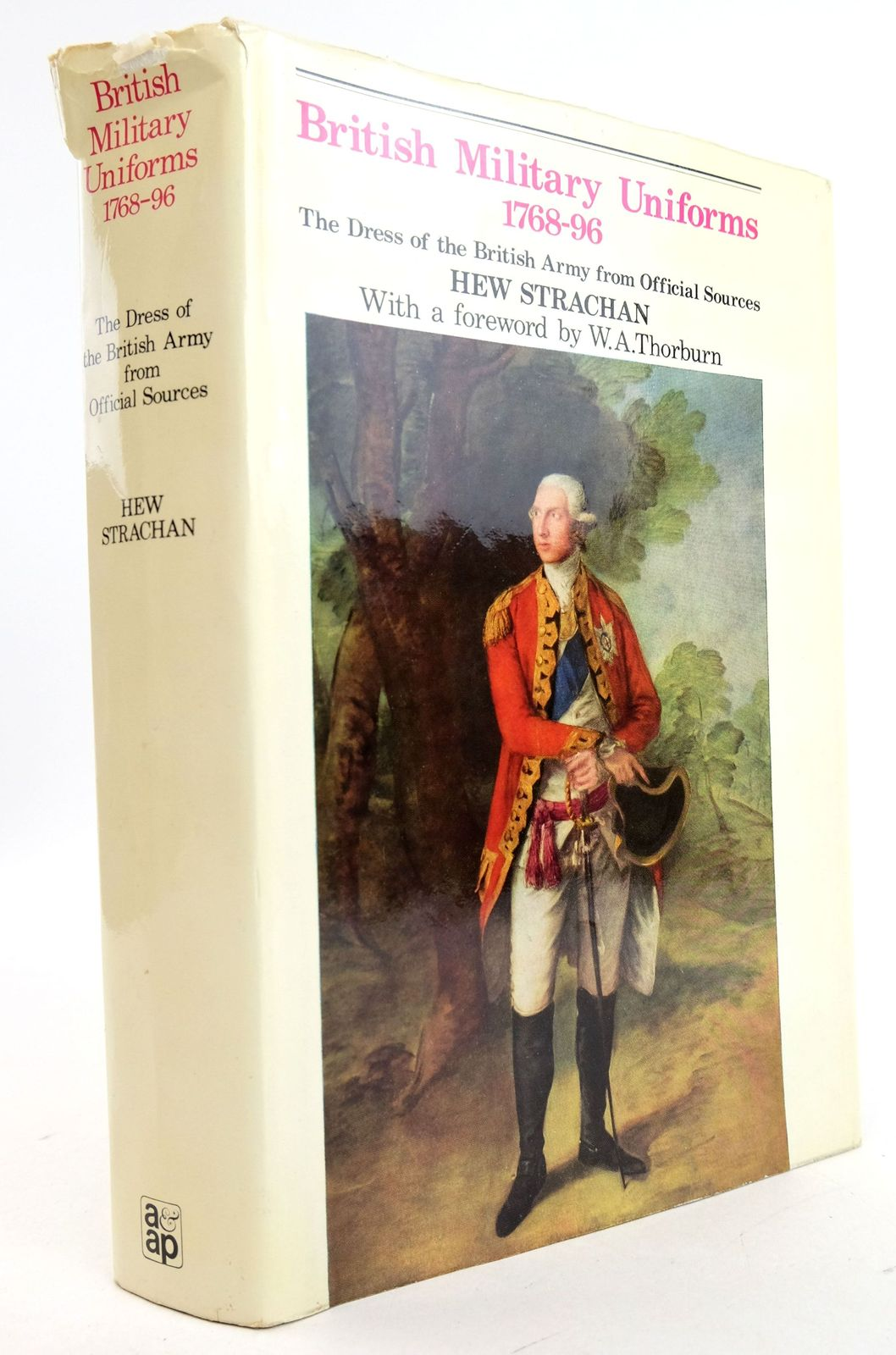 Photo of BRITISH MILITARY UNIFORMS 1768-1796 written by Strachan, Hew published by Arms & Armour Press (STOCK CODE: 1819769)  for sale by Stella & Rose's Books